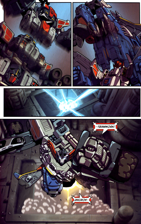 Read online Transformers Armada comic -  Issue #18 - 17