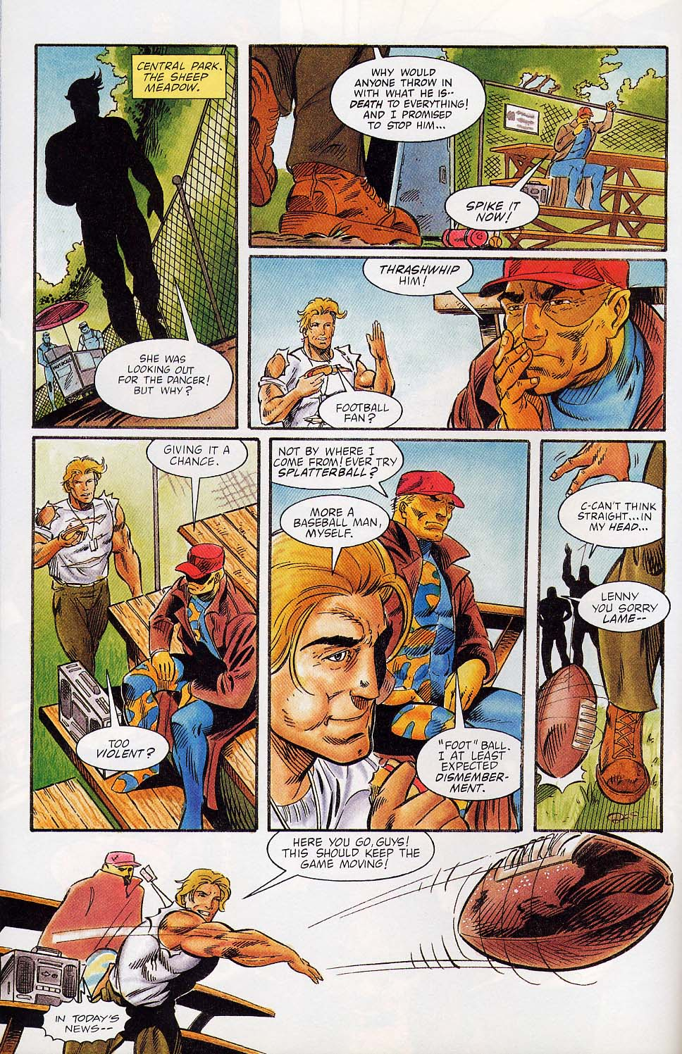 Read online Charlemagne comic -  Issue #4 - 7