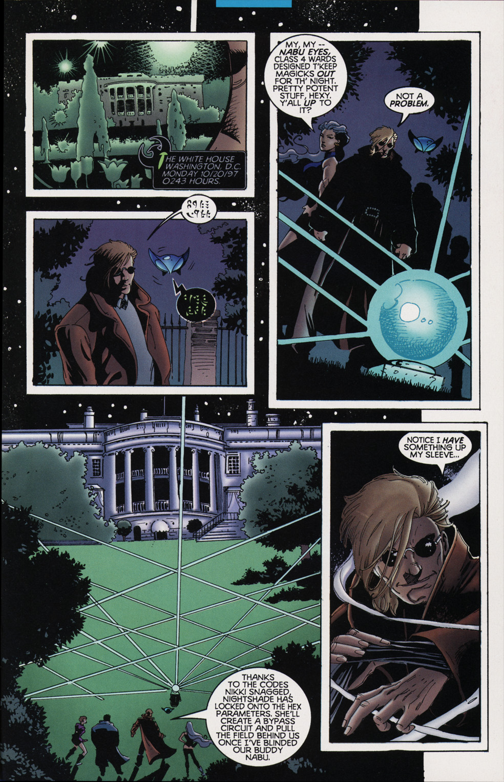 Read online Tangent Comics/ Nightwing comic -  Issue # Full - 25