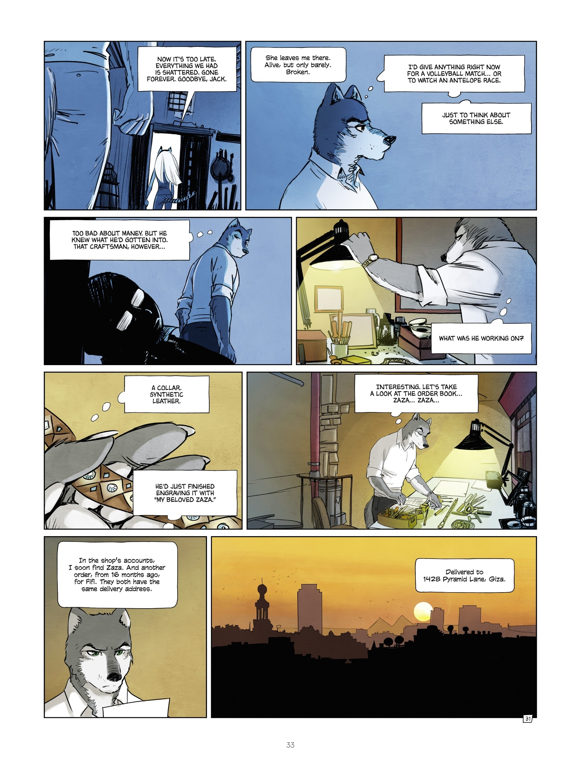 Read online Jack Wolfgang comic -  Issue #3 - 35