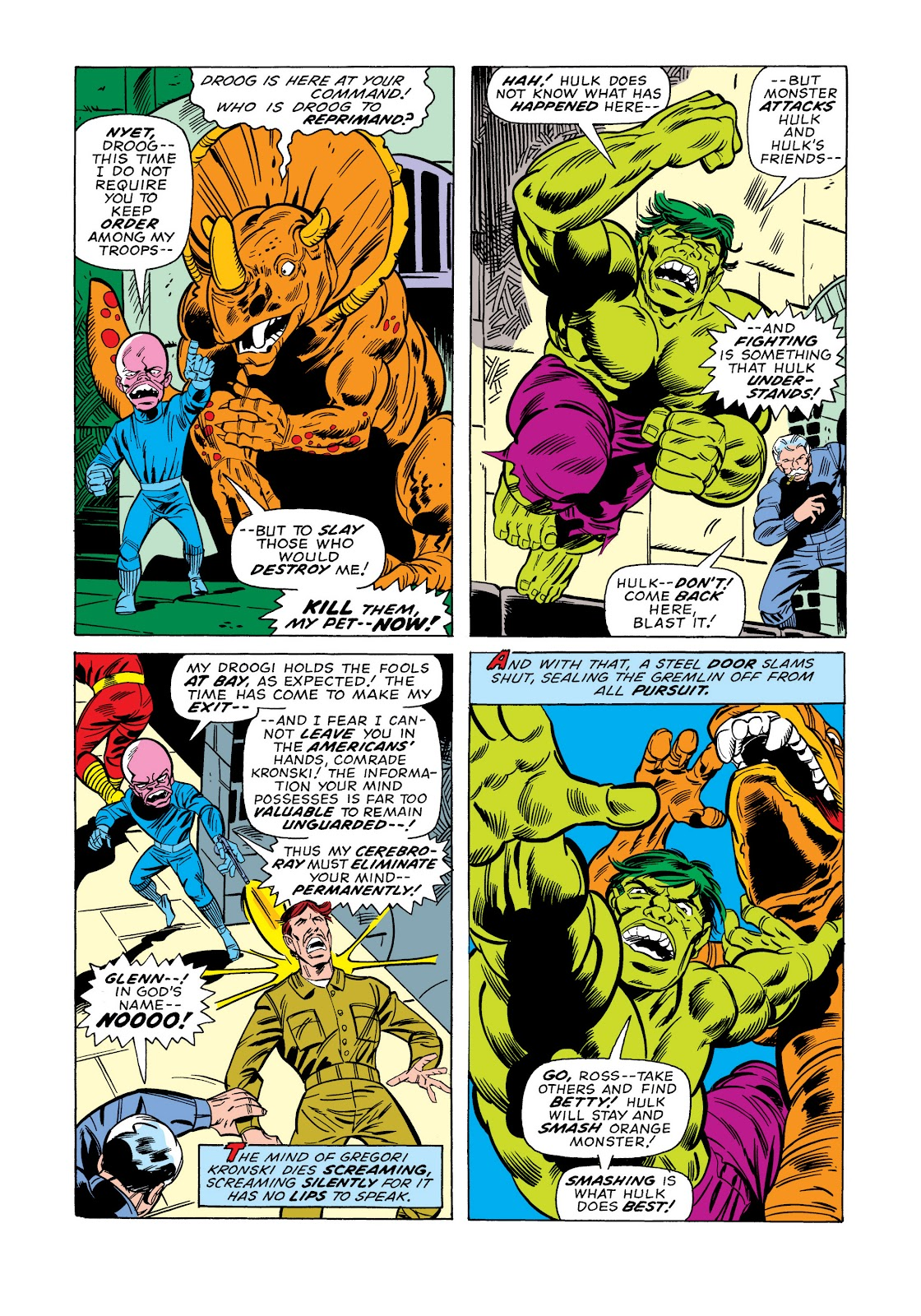Read online Marvel Masterworks: The Incredible Hulk comic -  Issue # TPB 11 (Part 1) - 94