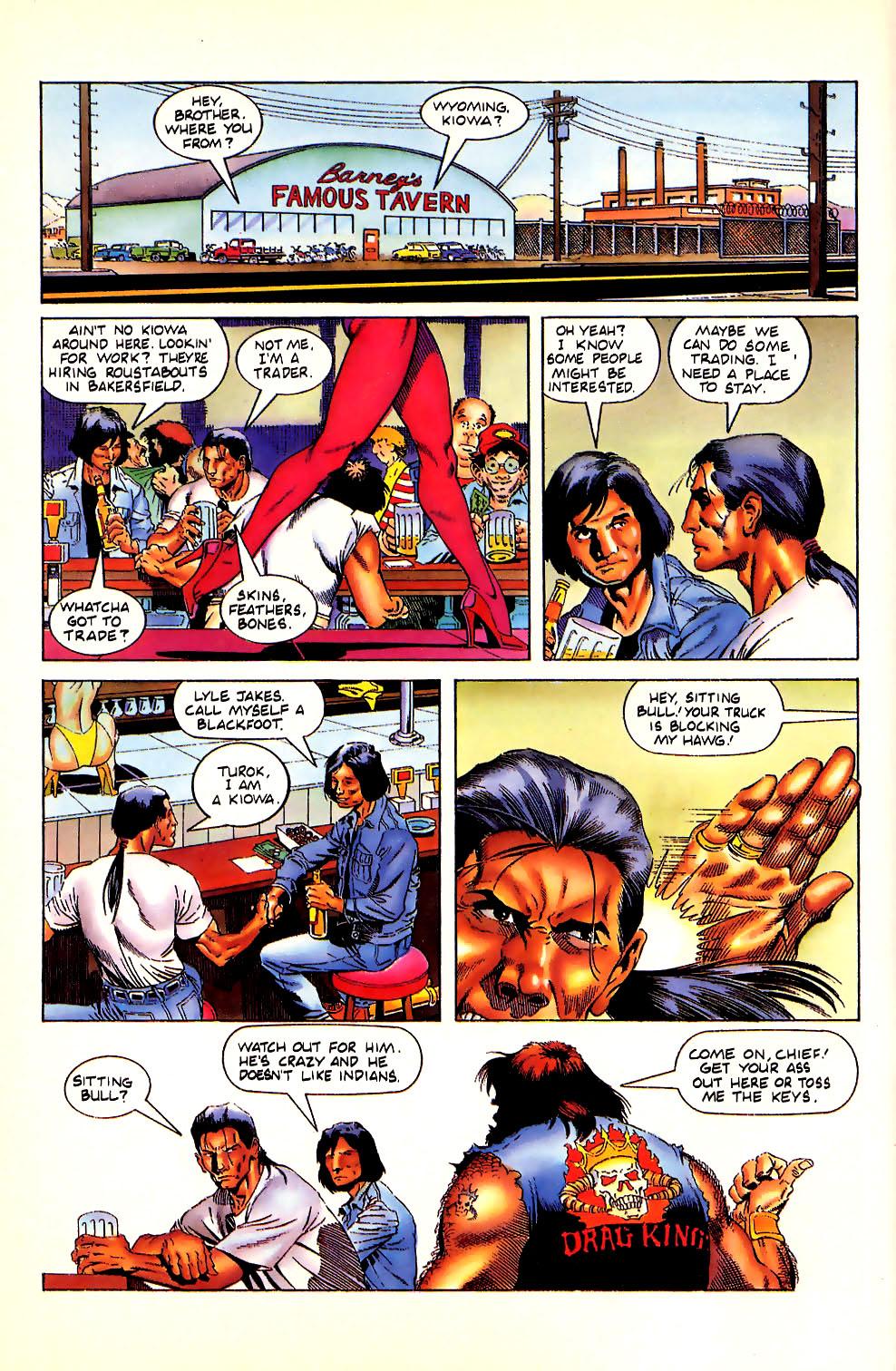 Read online Turok, Dinosaur Hunter (1993) comic -  Issue #11 - 10