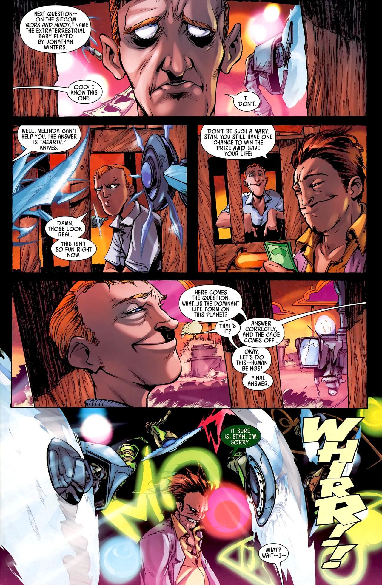 Read online Skrull Kill Krew (2009) comic -  Issue #4 - 5