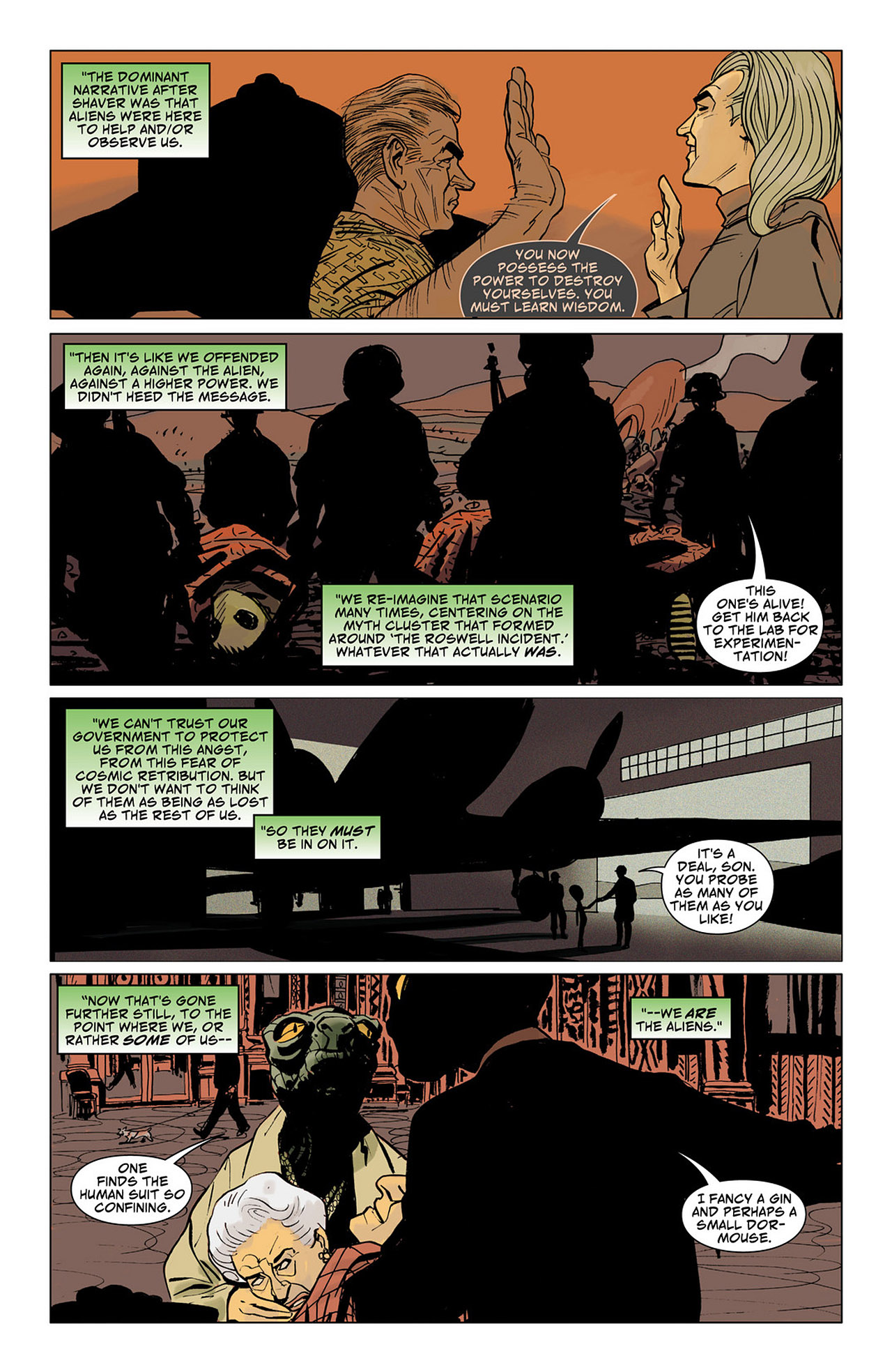 Read online Saucer Country comic -  Issue #6 - 14