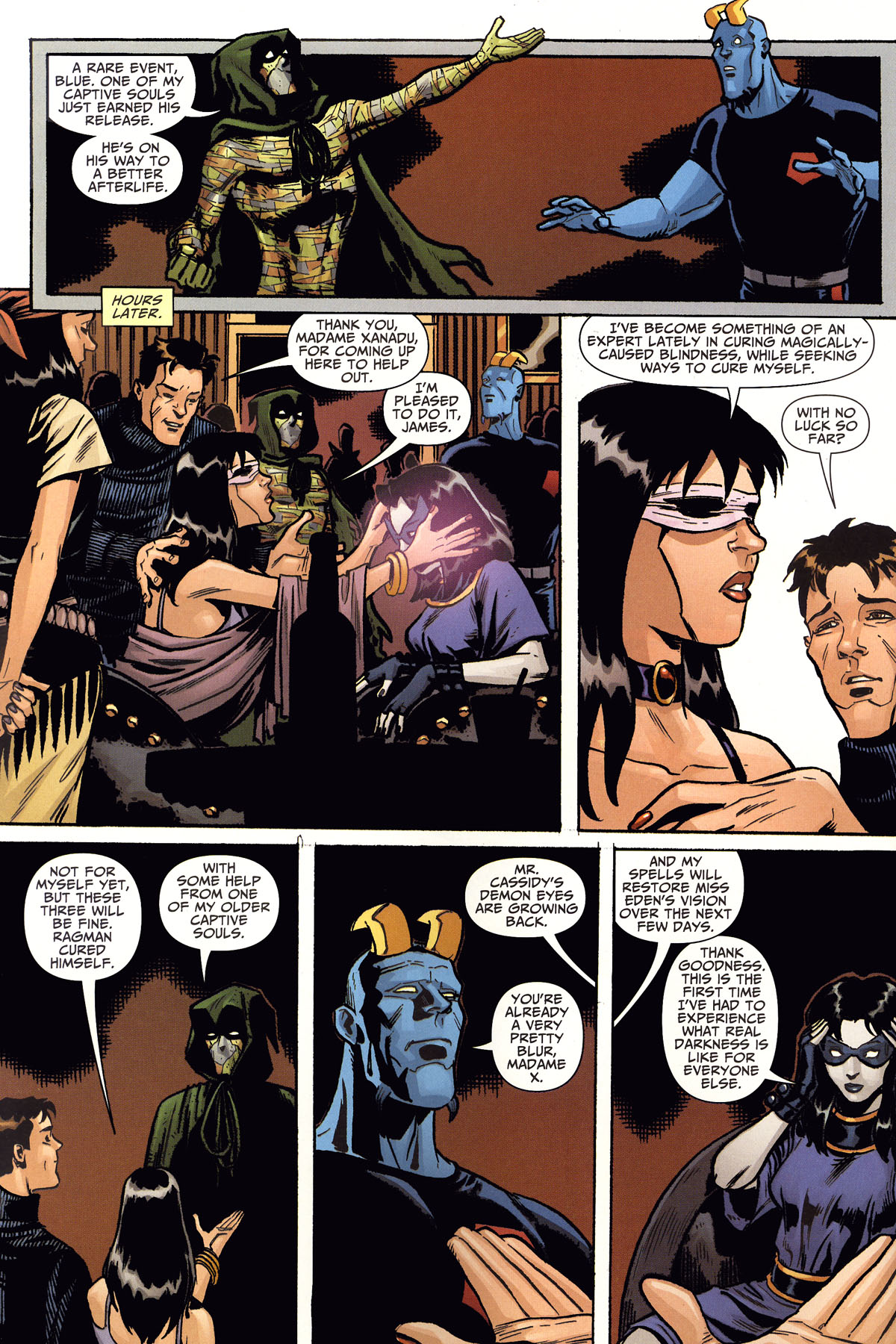 Read online Shadowpact comic -  Issue #8 - 22