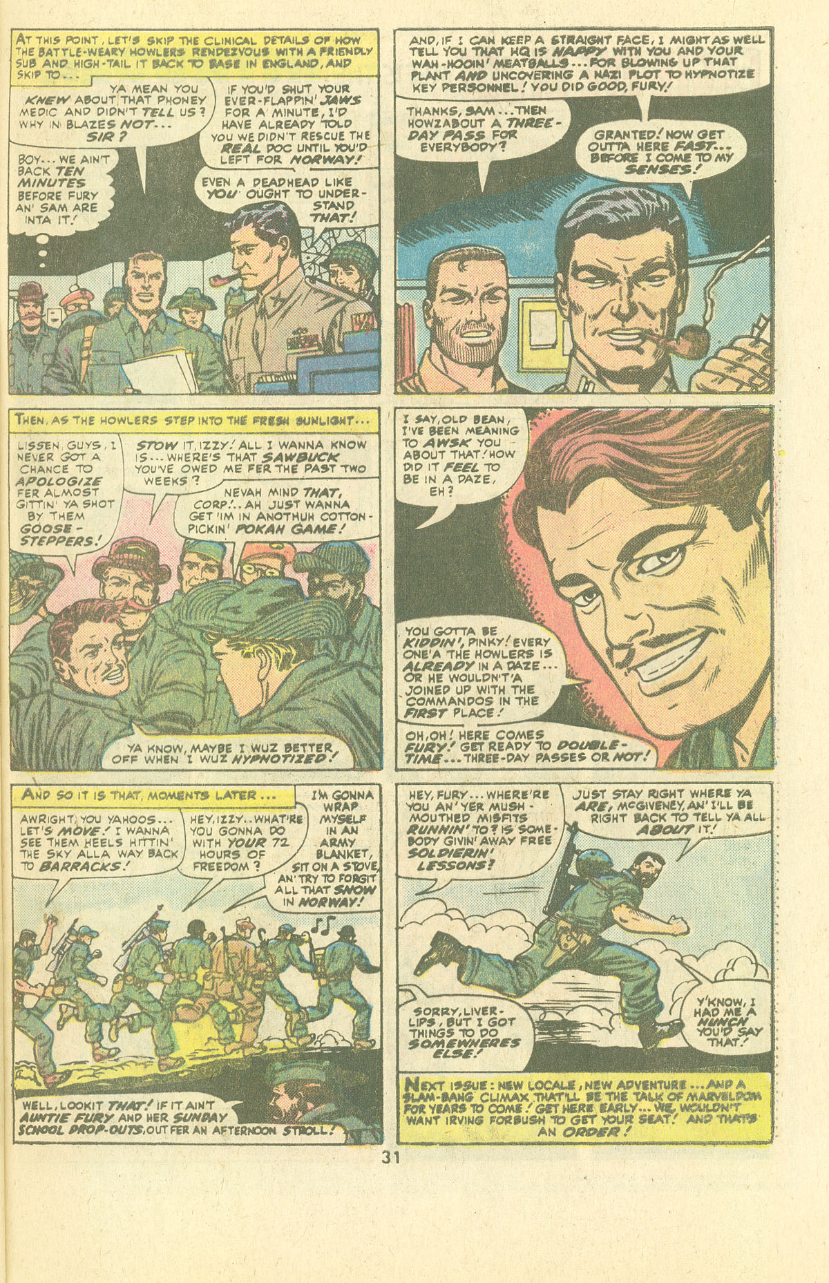Read online Sgt. Fury comic -  Issue #134 - 33