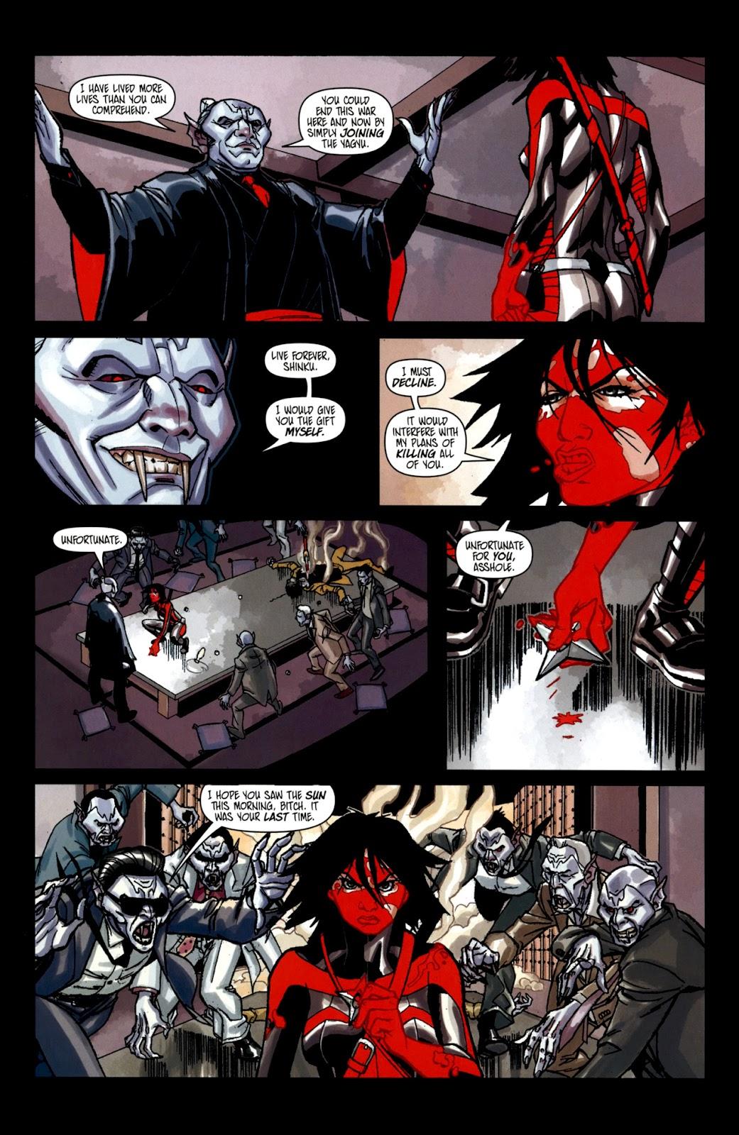 Read online Shinku comic -  Issue #2 - 19