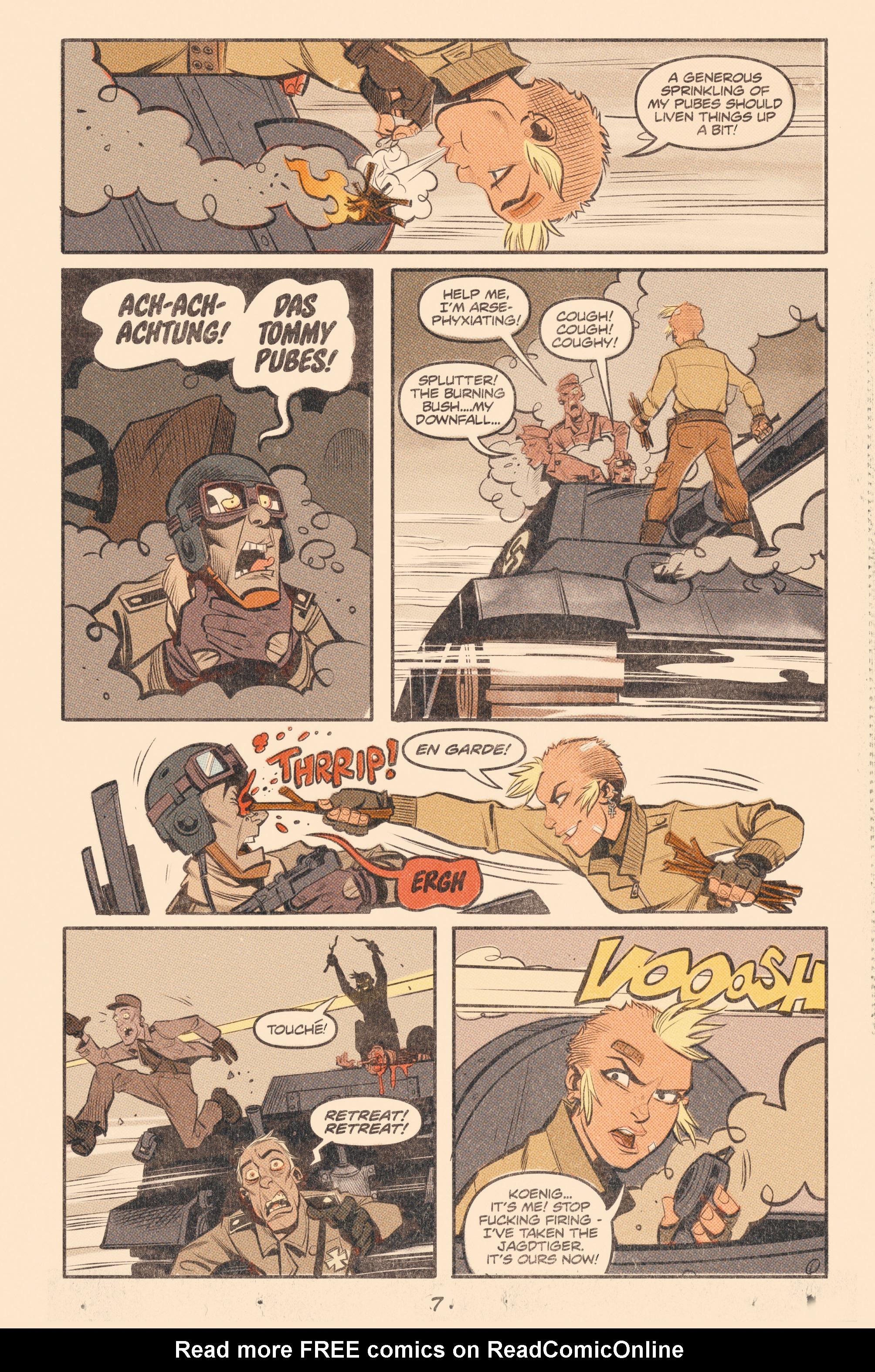 Read online Tank Girl: World War Tank Girl comic -  Issue #2 - 9