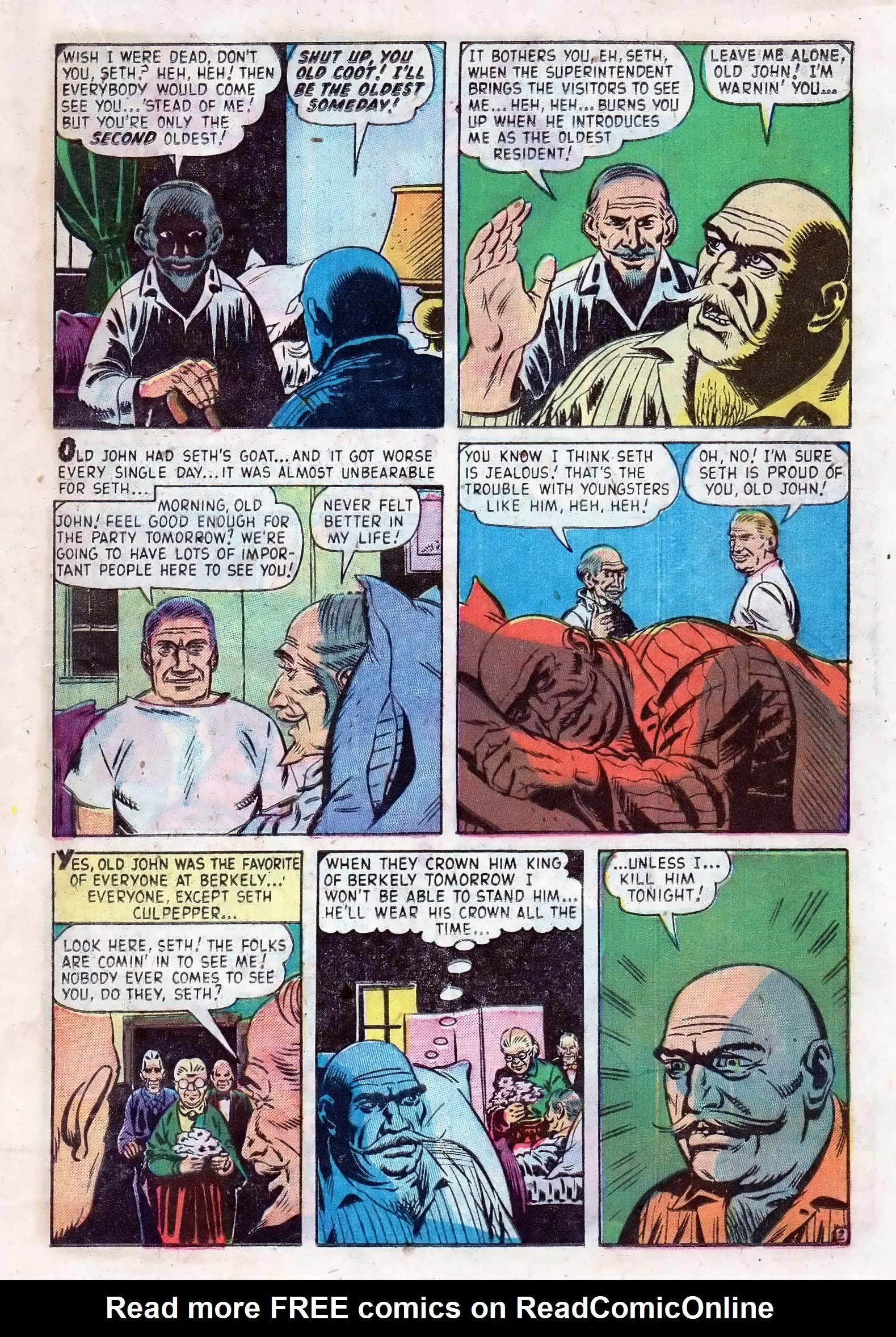 Read online Adventures into Weird Worlds comic -  Issue #10 - 18