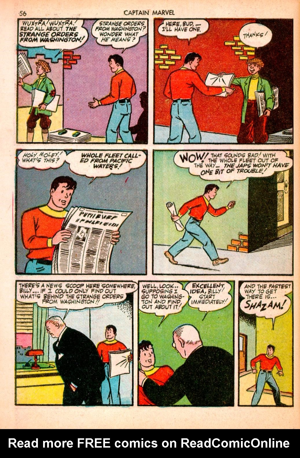 Captain Marvel Adventures issue 10 - Page 56