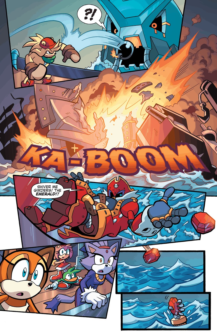Read online Sonic Universe comic -  Issue #57 - 20