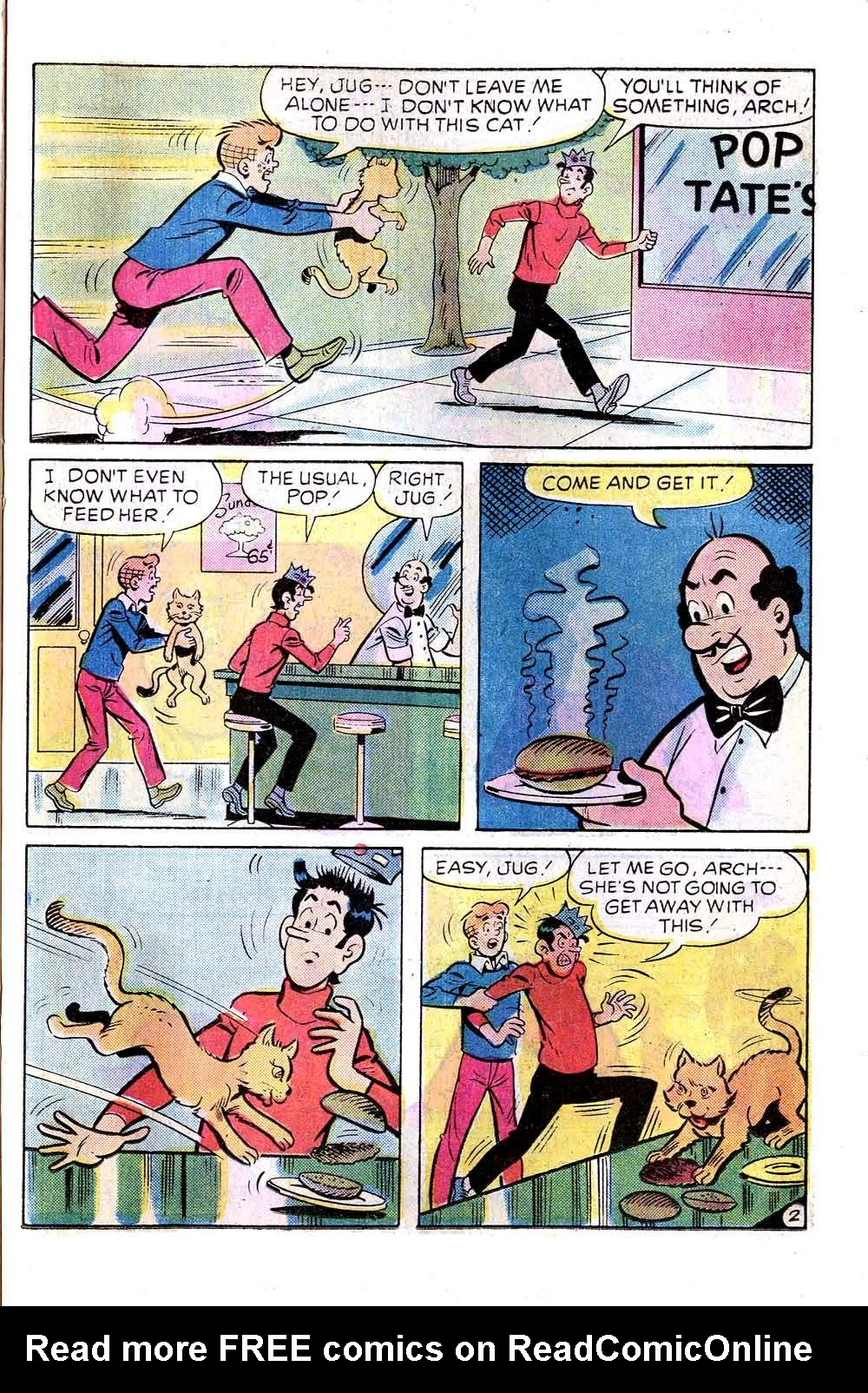 Read online Archie (1960) comic -  Issue #256 - 21