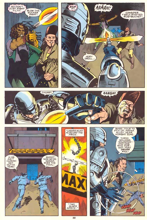 Read online Robocop (1990) comic -  Issue #1 - 17