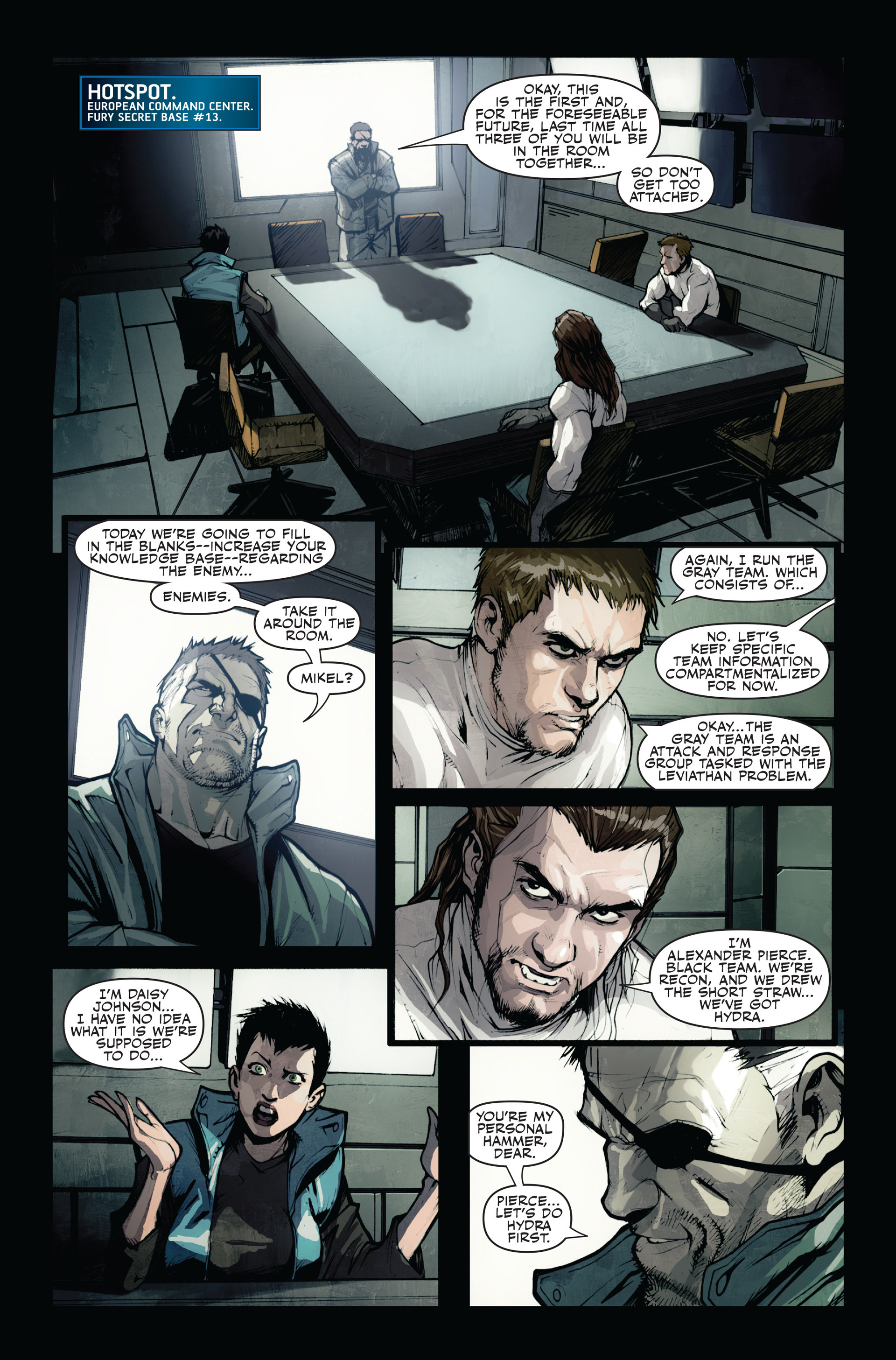 Read online Secret Warriors comic -  Issue #12 - 18