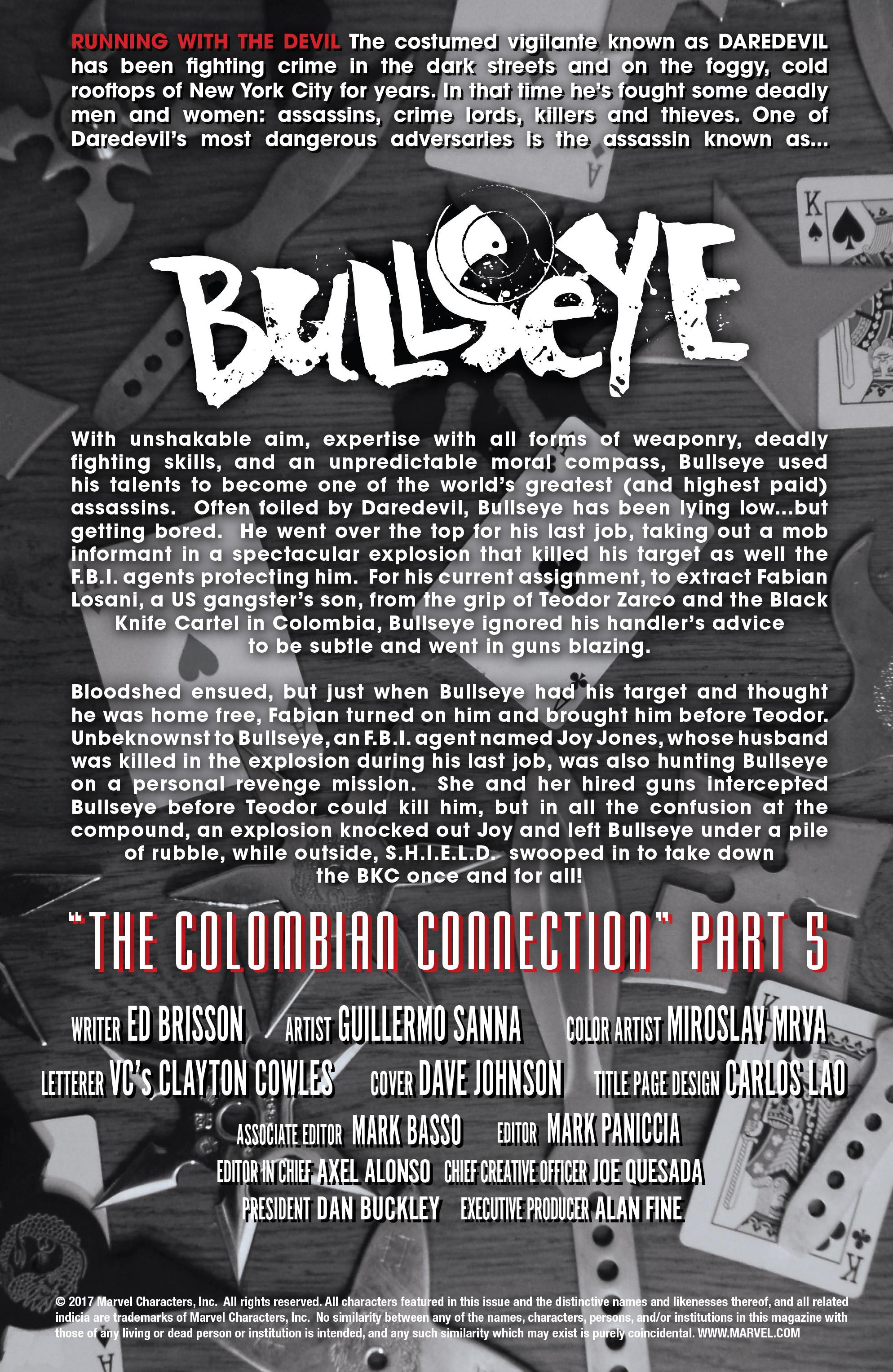 Read online Bullseye comic -  Issue #5 - 4