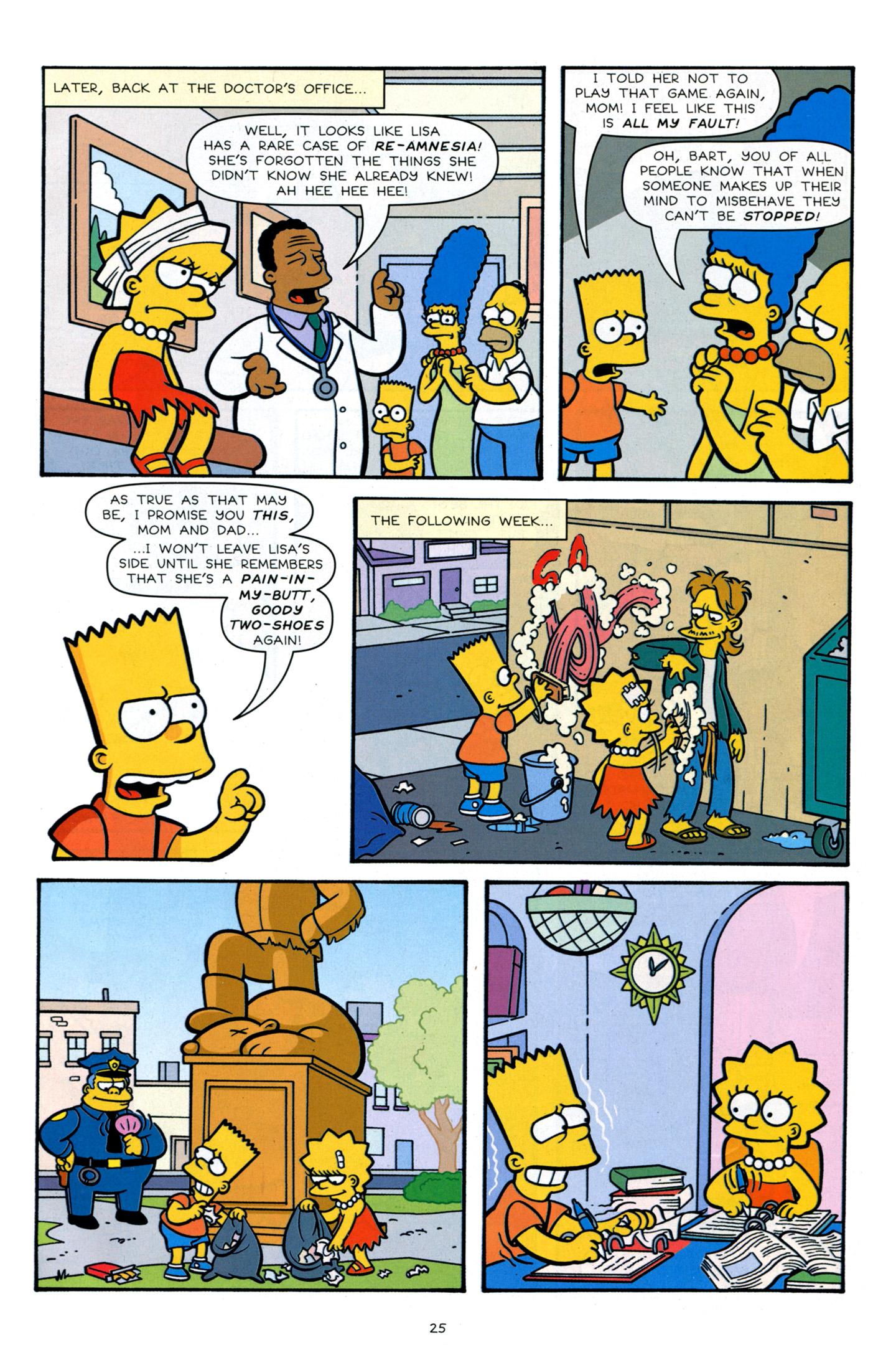 Read online Simpsons Comics Presents Bart Simpson comic -  Issue #66 - 27