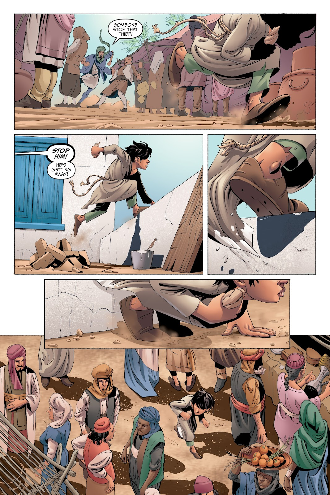 Read online Disney Aladdin: Four Tales of Agrabah comic -  Issue # TPB - 8