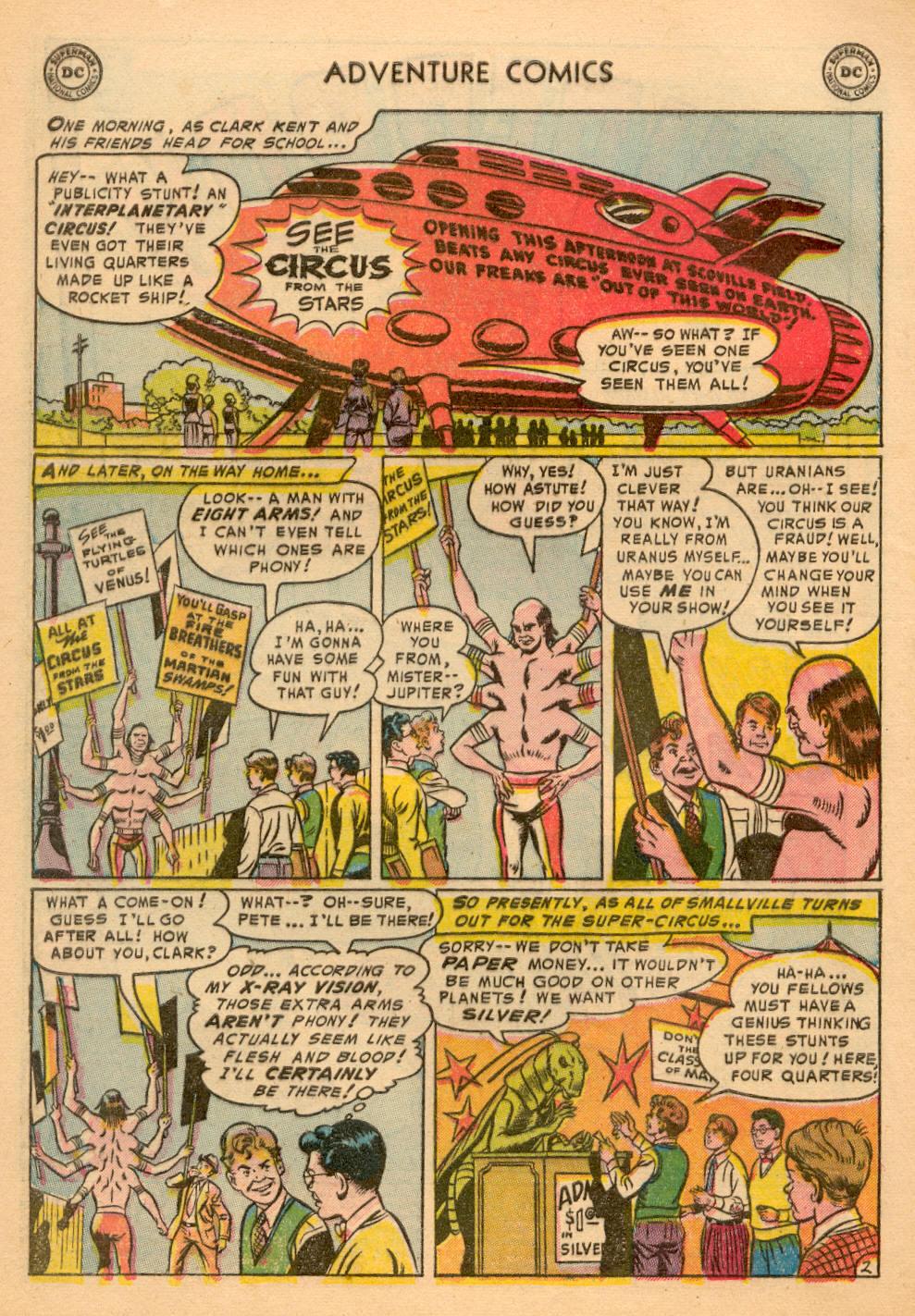 Read online Adventure Comics (1938) comic -  Issue #198 - 4