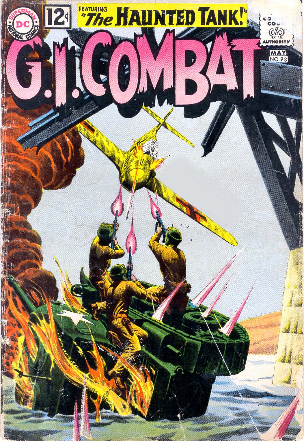G.I. Combat (1952) issue 93 - Page 1