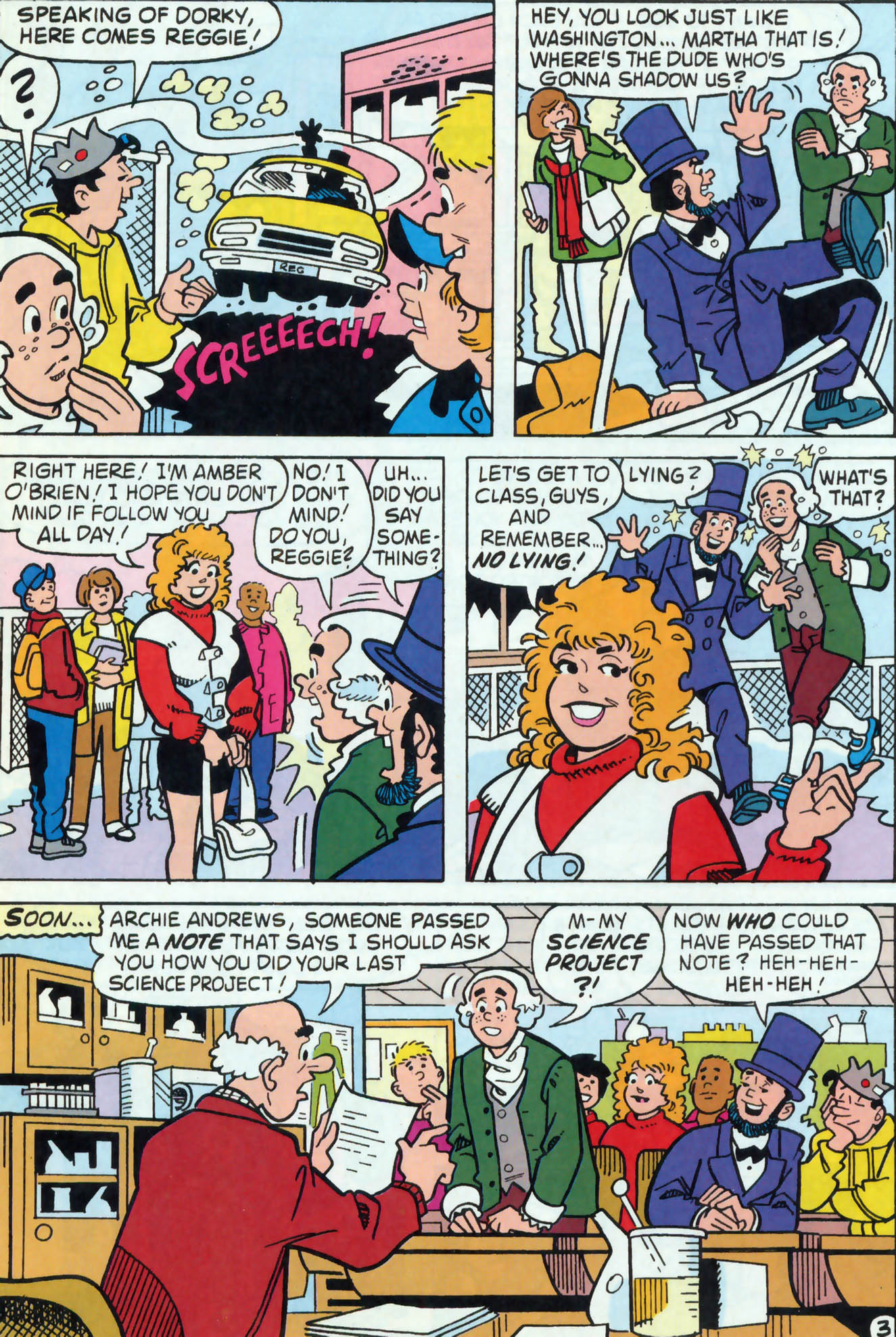 Read online Archie (1960) comic -  Issue #458 - 17