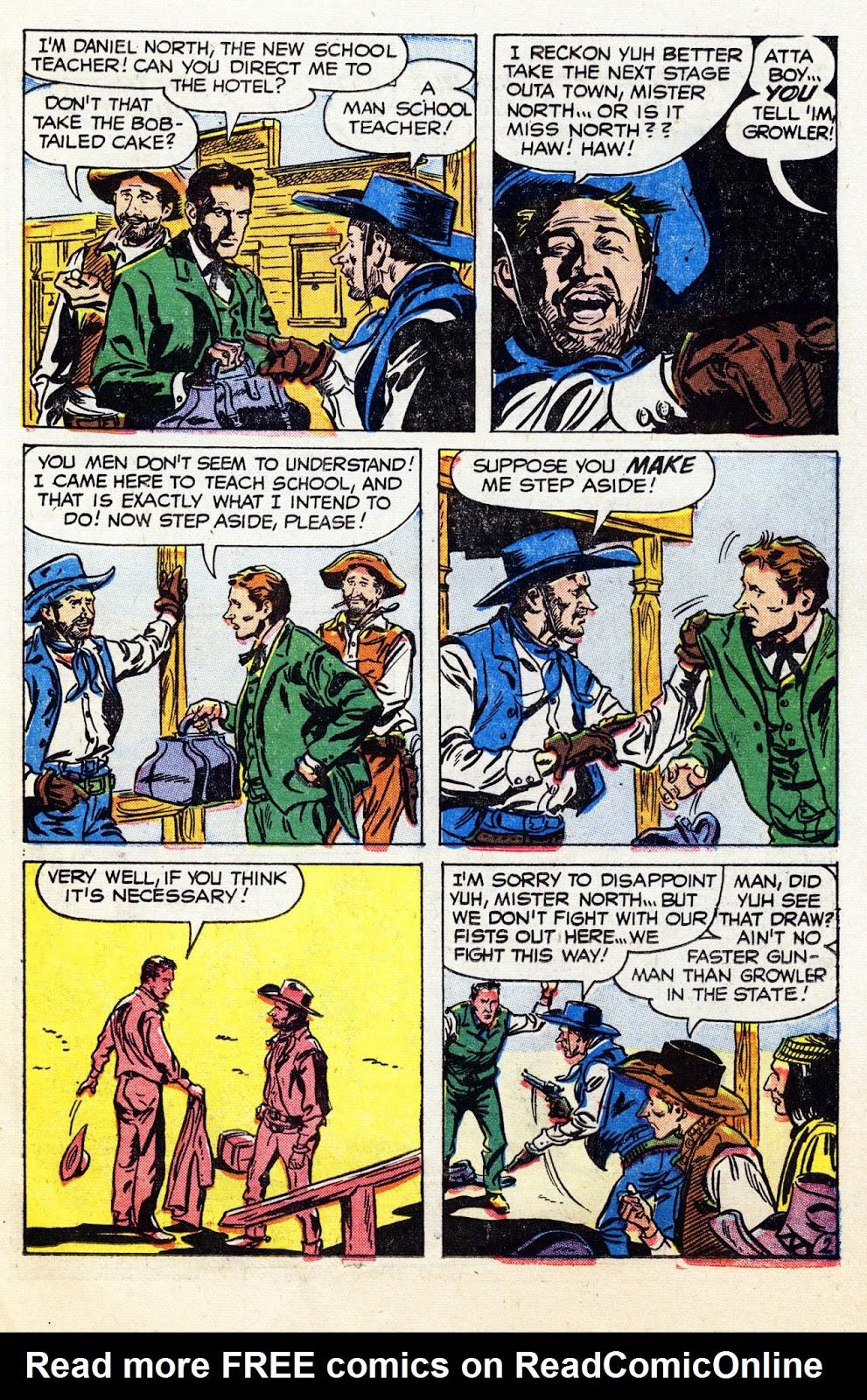 Gunsmoke Western issue 36 - Page 11