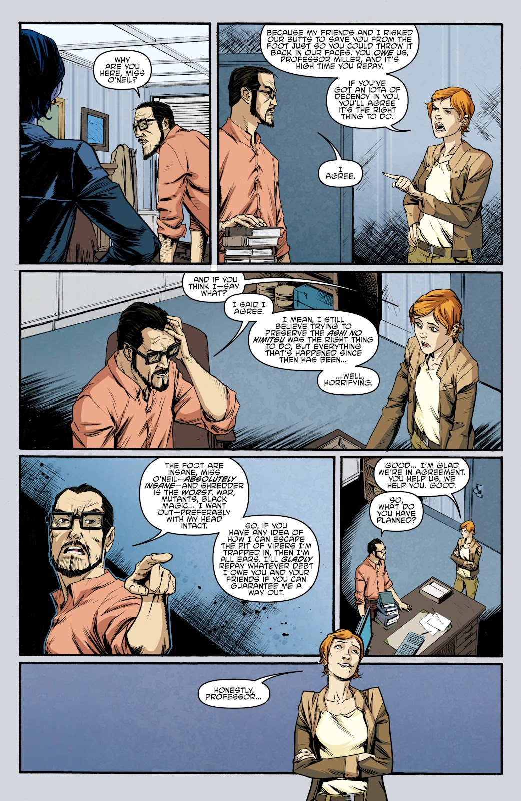 Read online Teenage Mutant Ninja Turtles: The IDW Collection comic -  Issue # TPB 5 (Part 3) - 100
