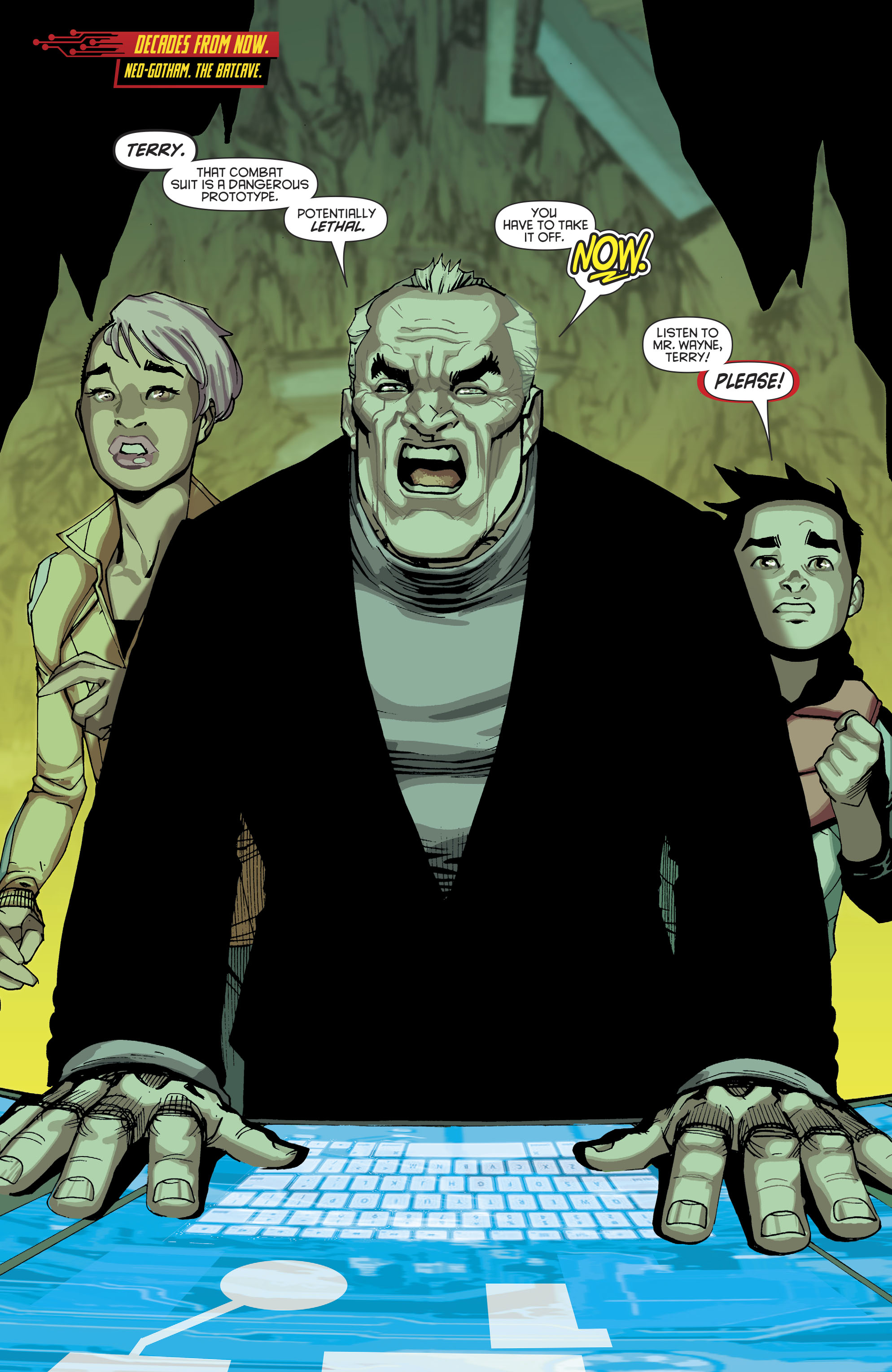 Read online Batman Beyond (2016) comic -  Issue #8 - 4