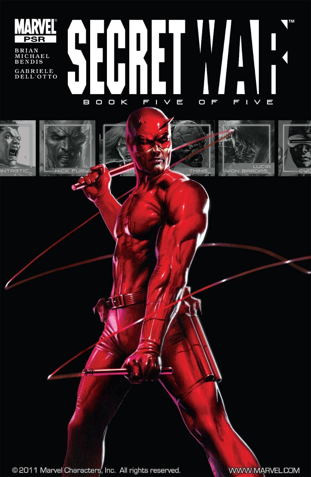 Read online Secret War comic -  Issue #5 - 1