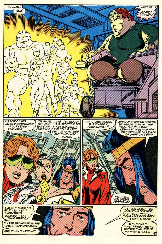 Read online Alpha Flight (1983) comic -  Issue #28 - 15