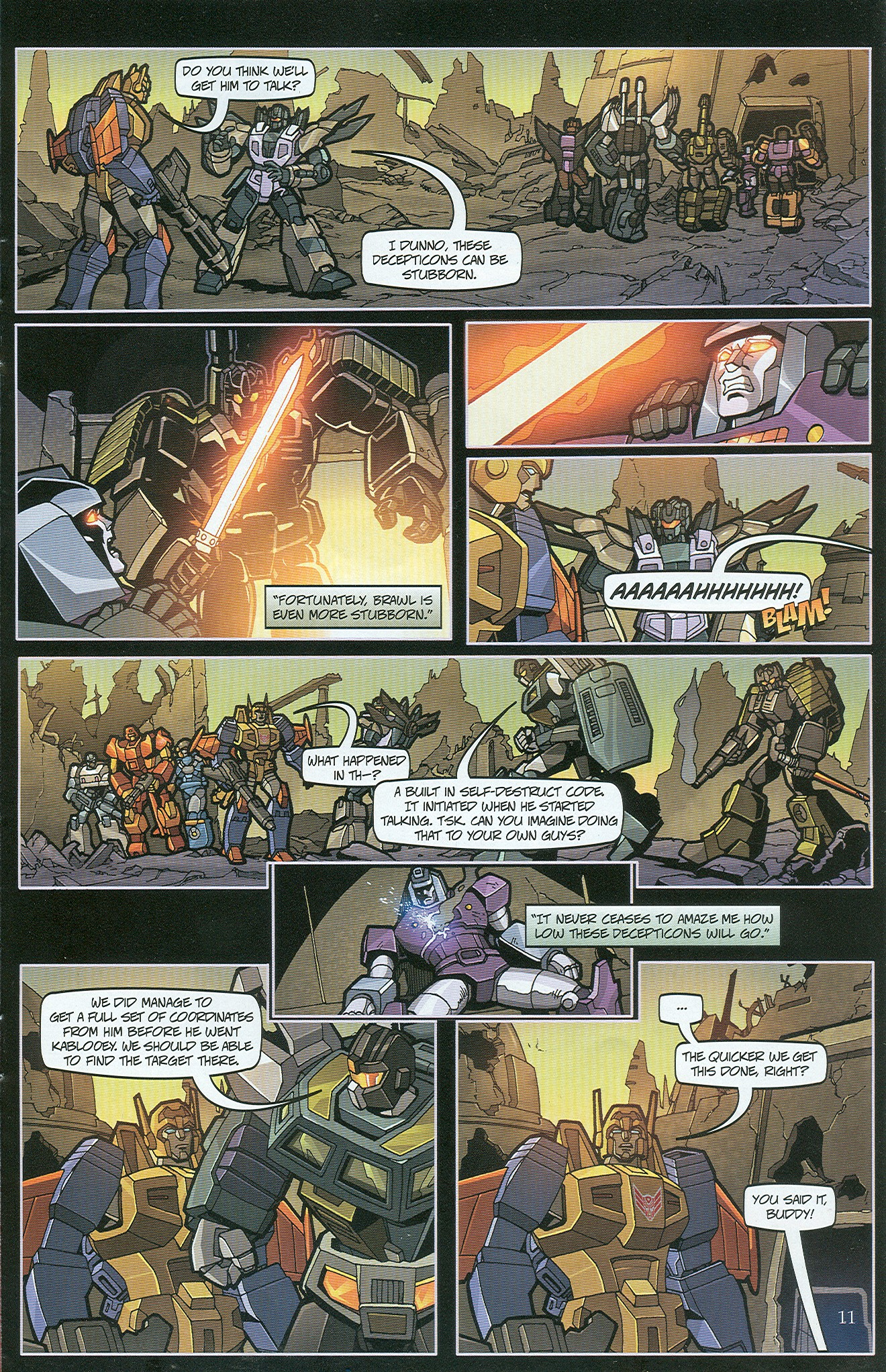 Read online Transformers: Collectors' Club comic -  Issue #33 - 11