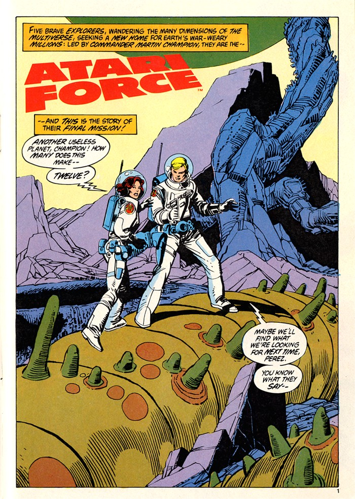 Read online Atari Force (1982) comic -  Issue #5 - 3