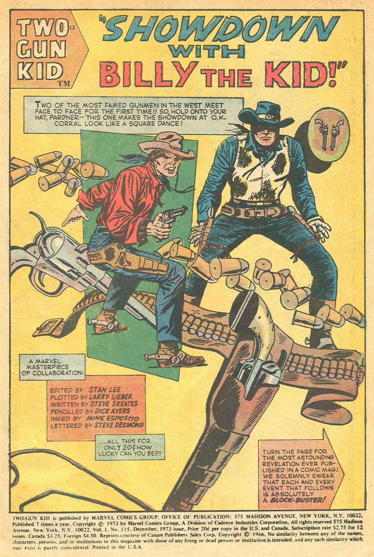 Read online Two-Gun Kid comic -  Issue #115 - 3