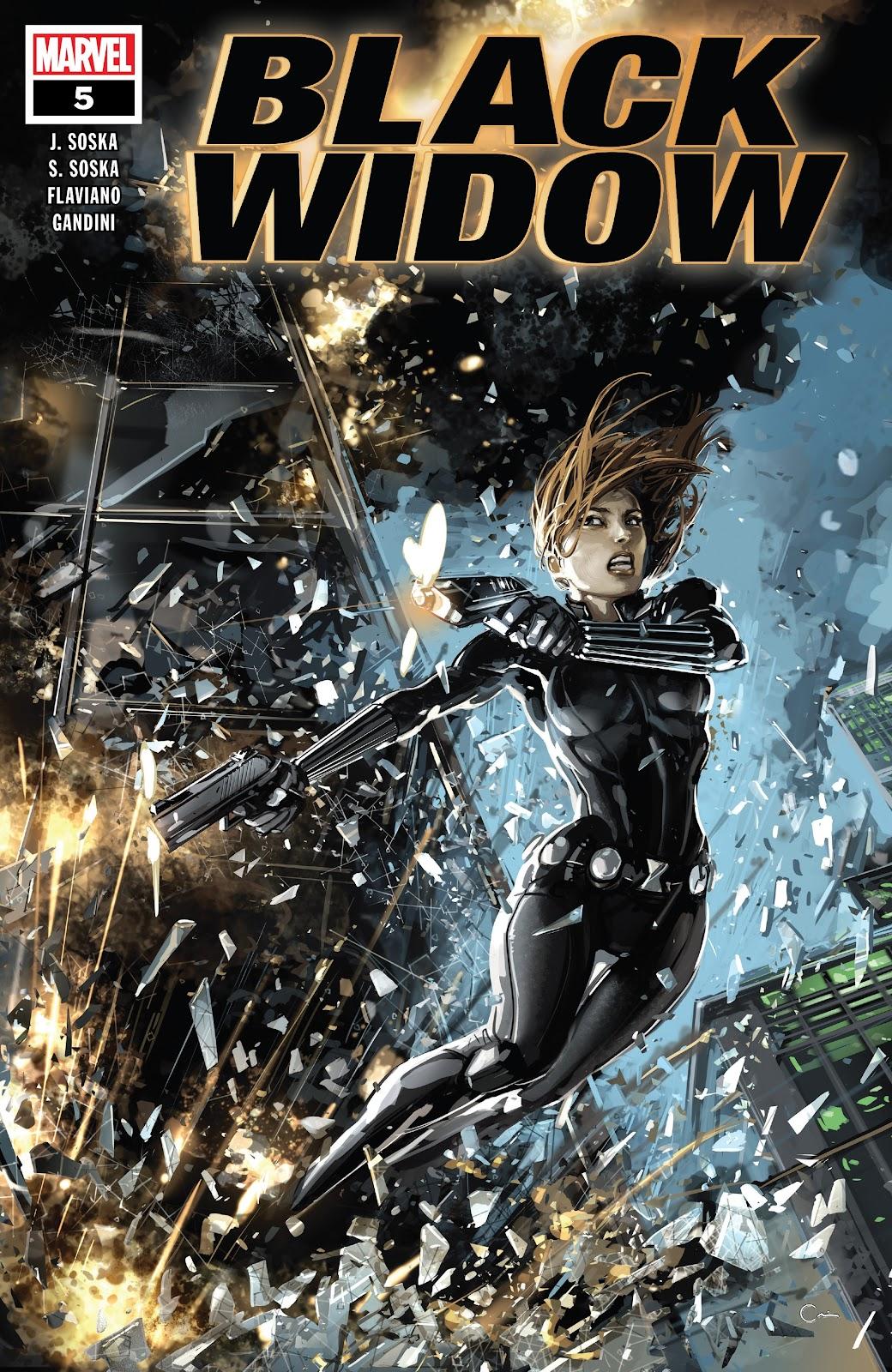 Read online Black Widow (2019) comic -  Issue #5 - 1