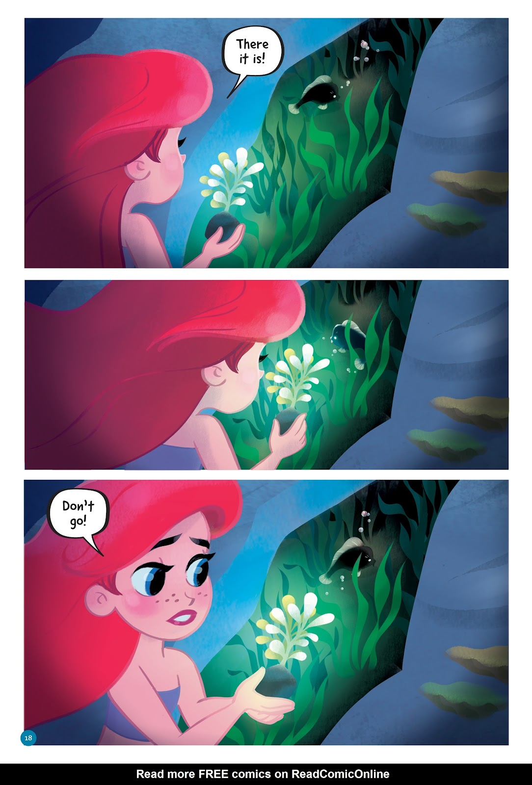 Read online Disney Princess: Ariel and the Sea Wolf comic -  Issue # Full - 16