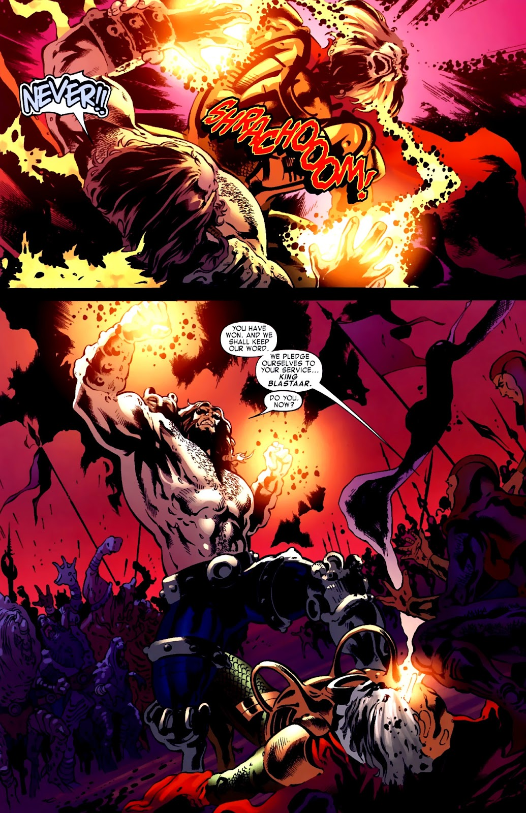 War of Kings: Warriors Issue #1 #1 - English 32