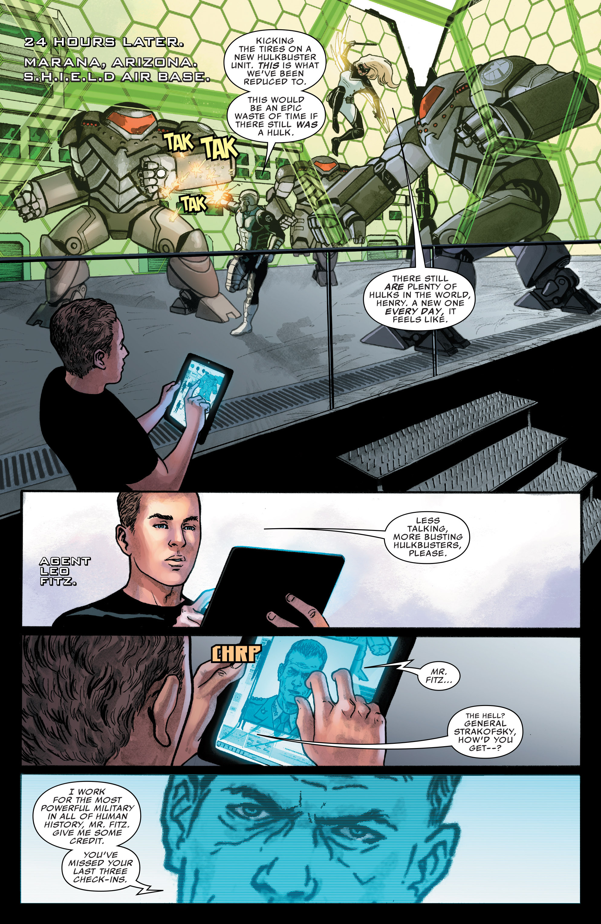 Read online Agents of S.H.I.E.L.D. comic -  Issue #8 - 16