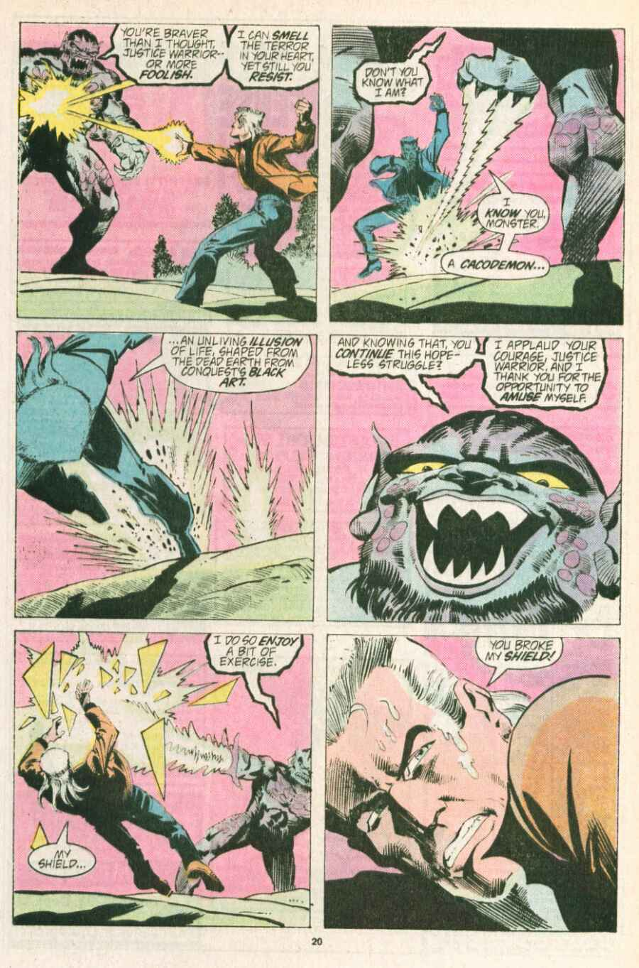 Read online Justice (1986) comic -  Issue #13 - 21