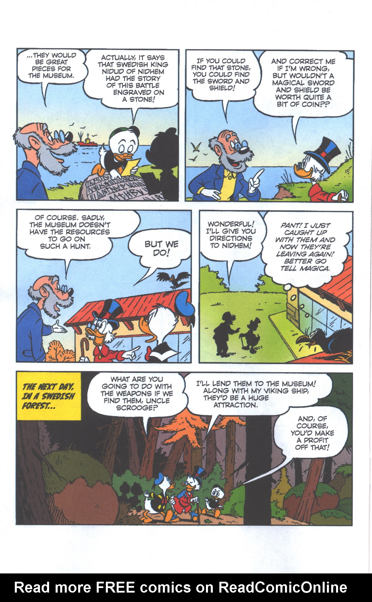 Read online Uncle Scrooge (1953) comic -  Issue #386 - 7