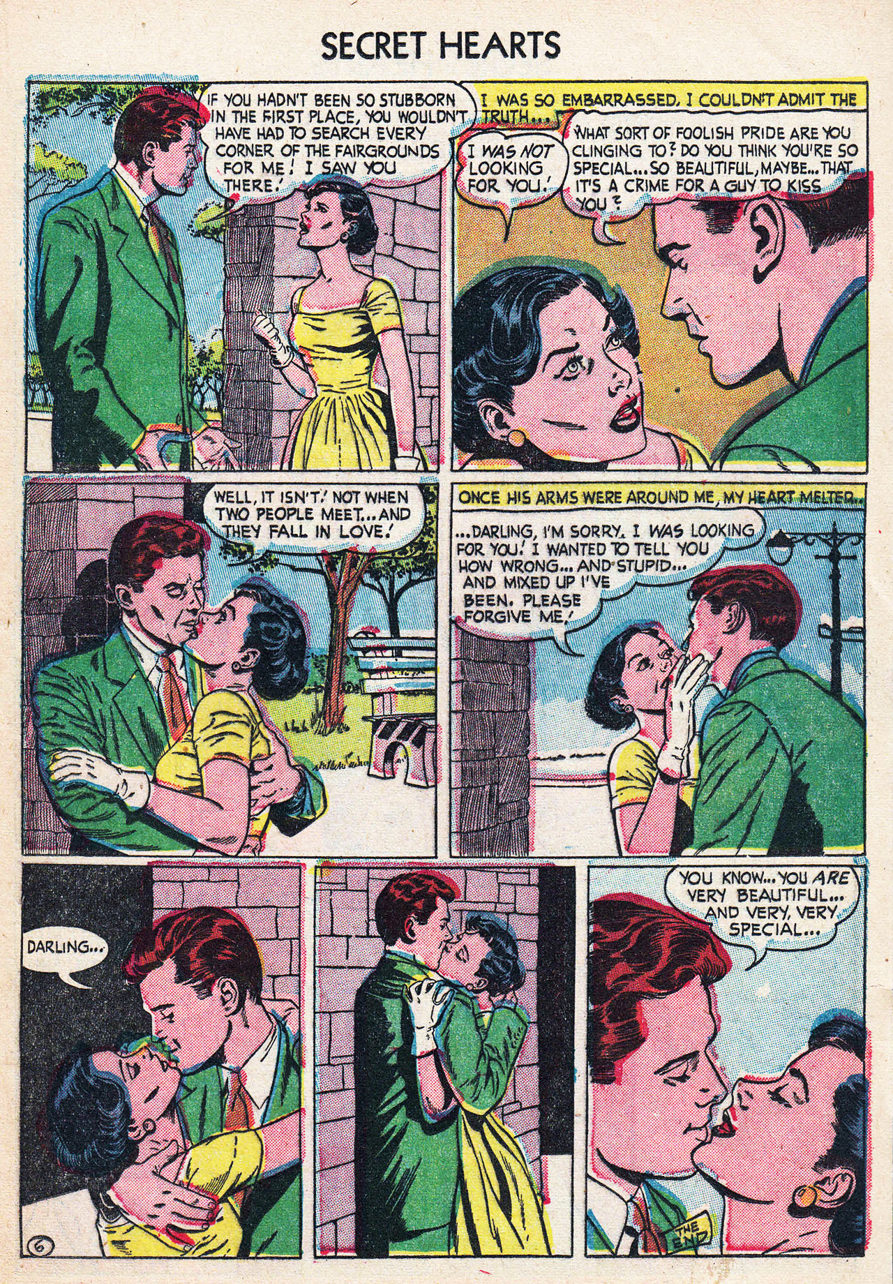 Read online Secret Hearts comic -  Issue #24 - 17