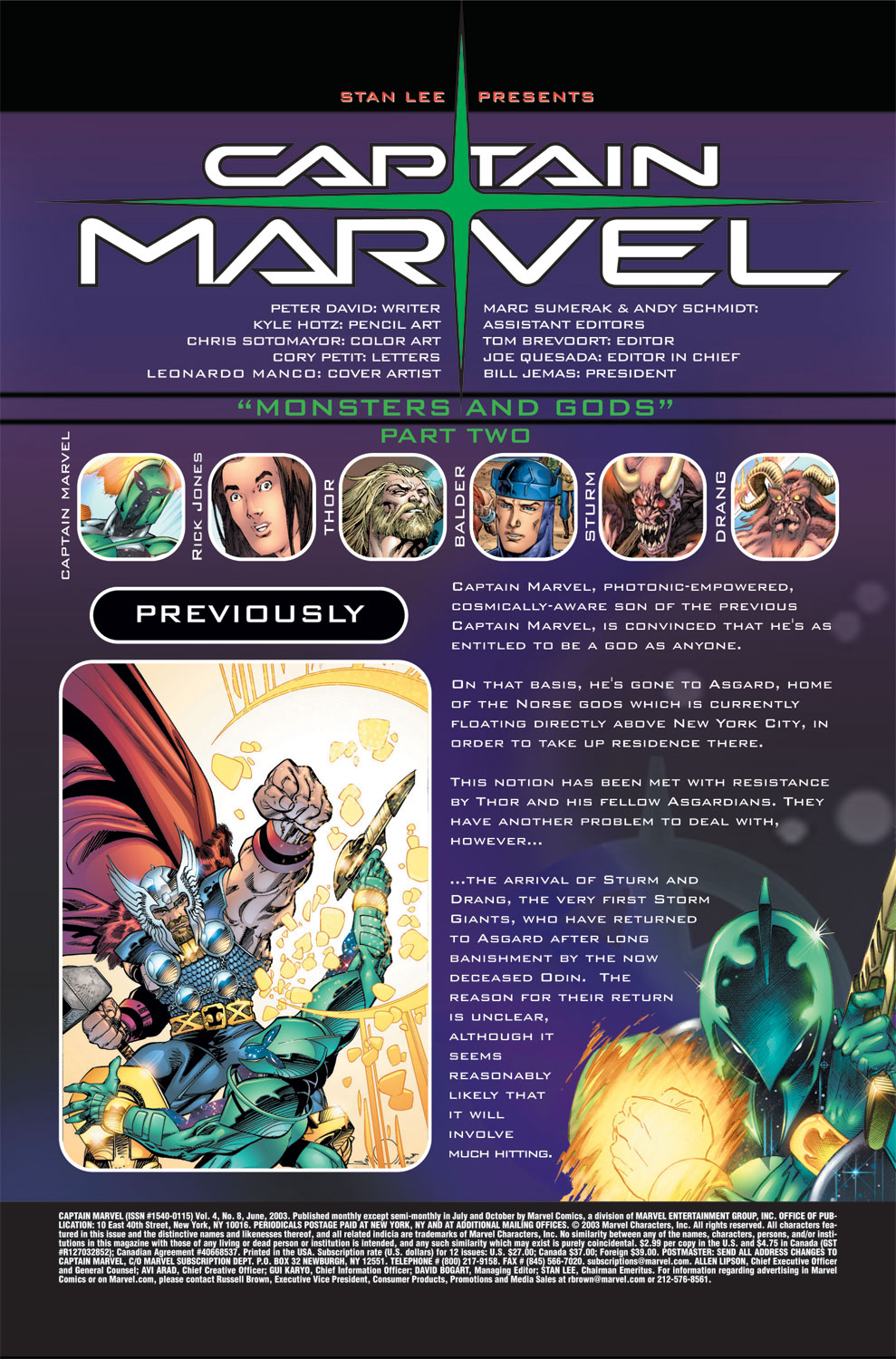 Captain Marvel (2002) Issue #8 #8 - English 2