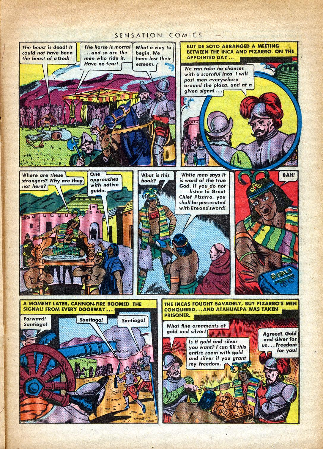 Read online Sensation (Mystery) Comics comic -  Issue #37 - 29