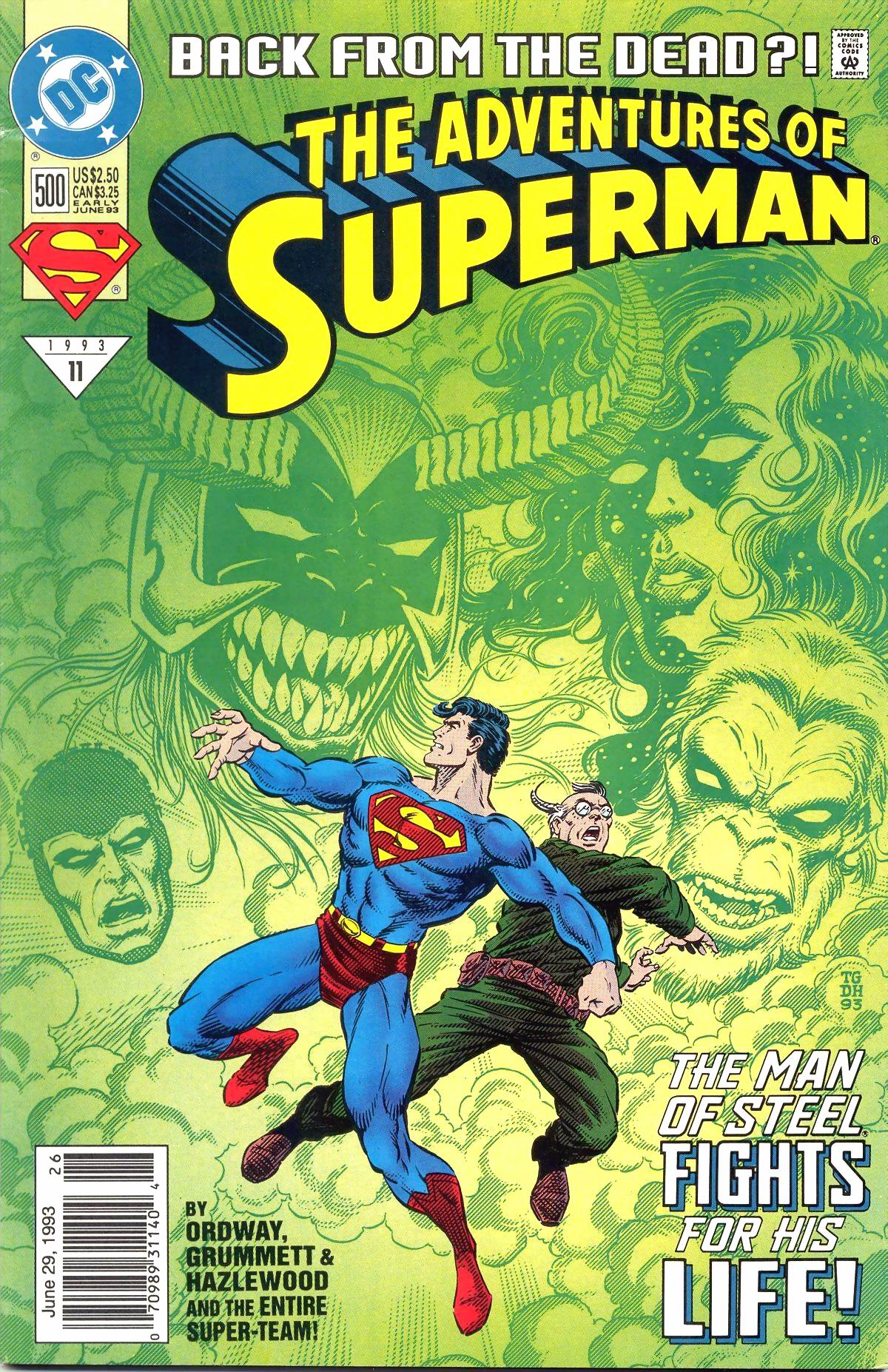 Read online Adventures of Superman (1987) comic -  Issue #500 - 2