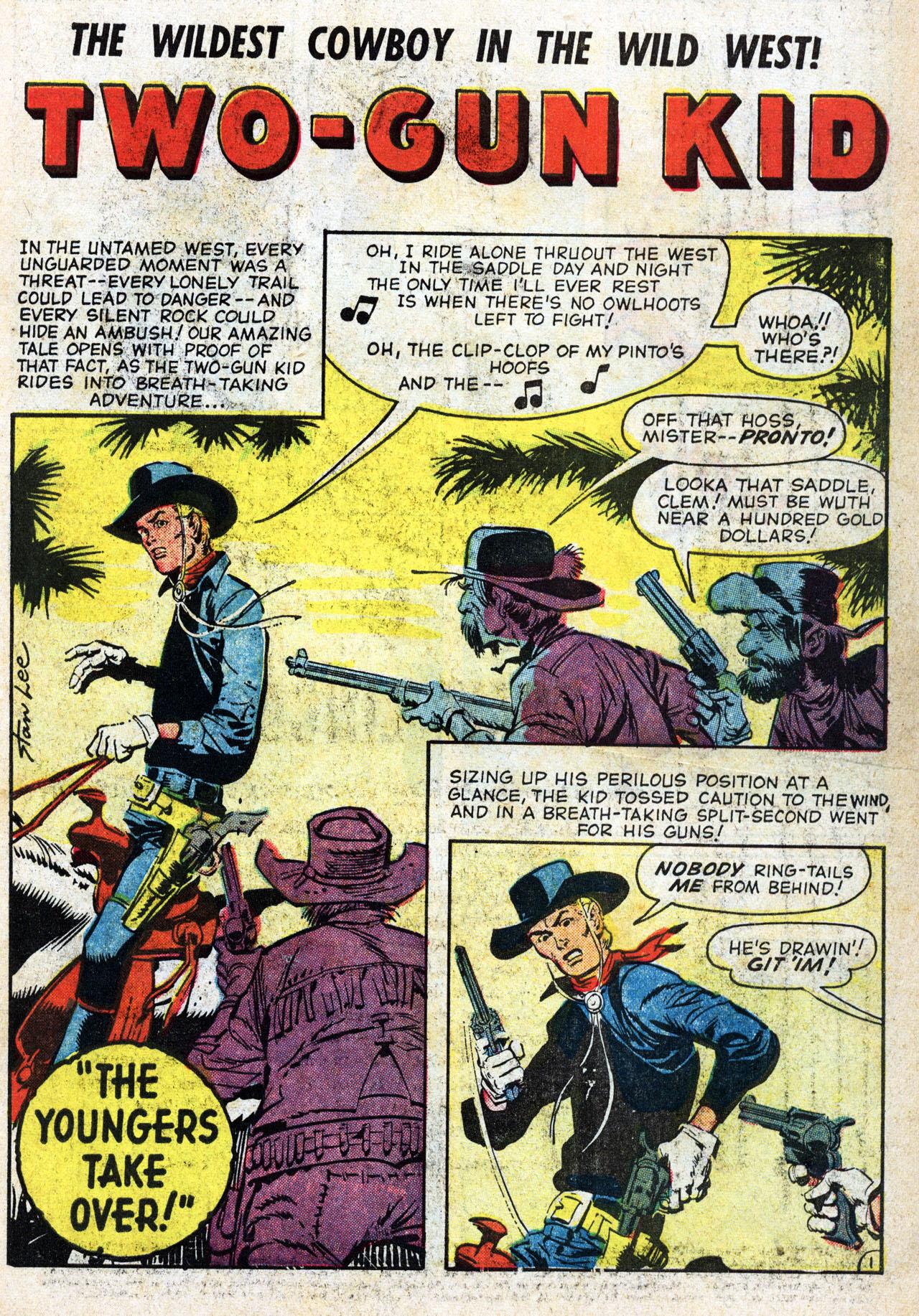 Read online Two-Gun Kid comic -  Issue #46 - 3