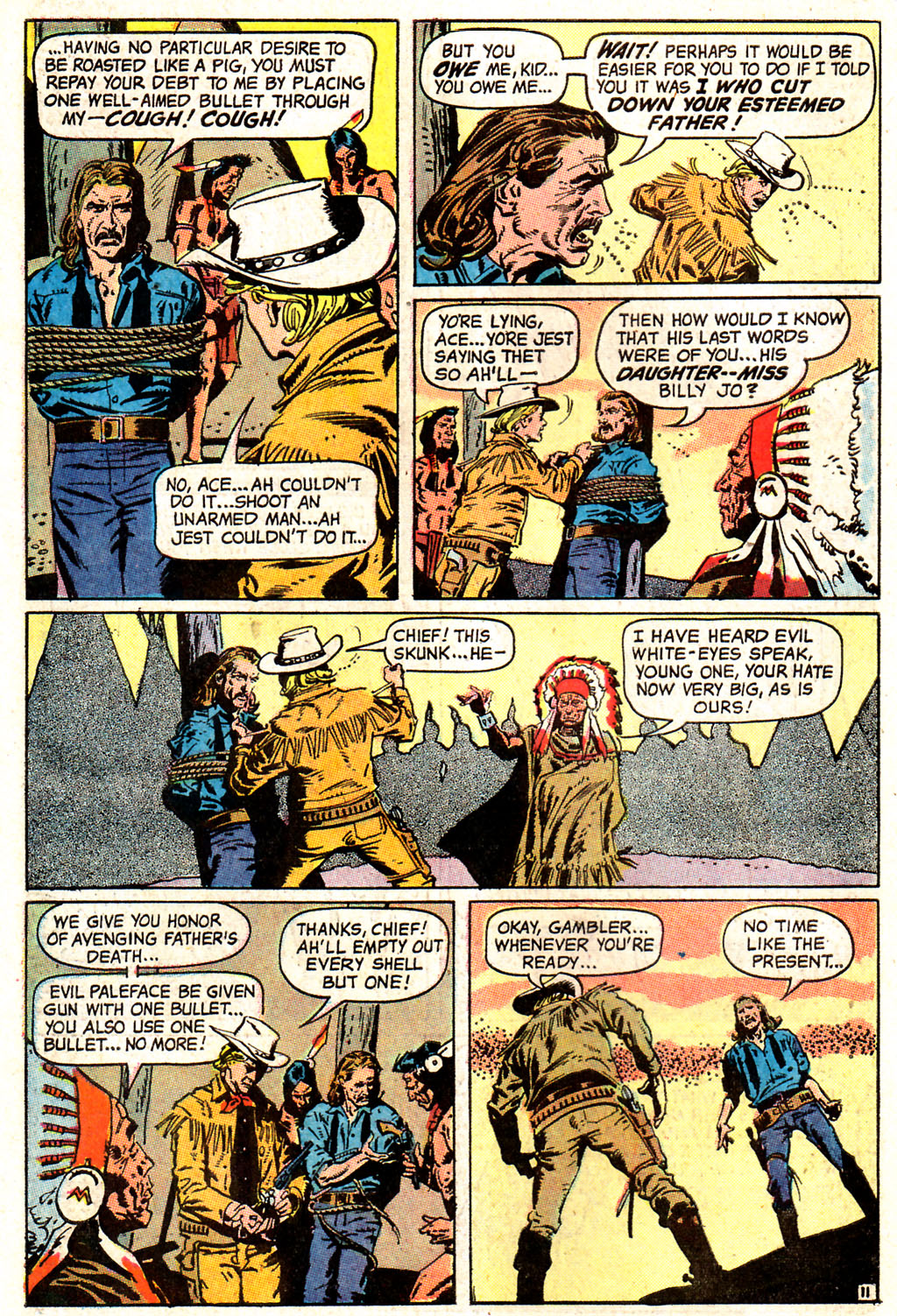 Read online All-Star Western (1970) comic -  Issue #7 - 14