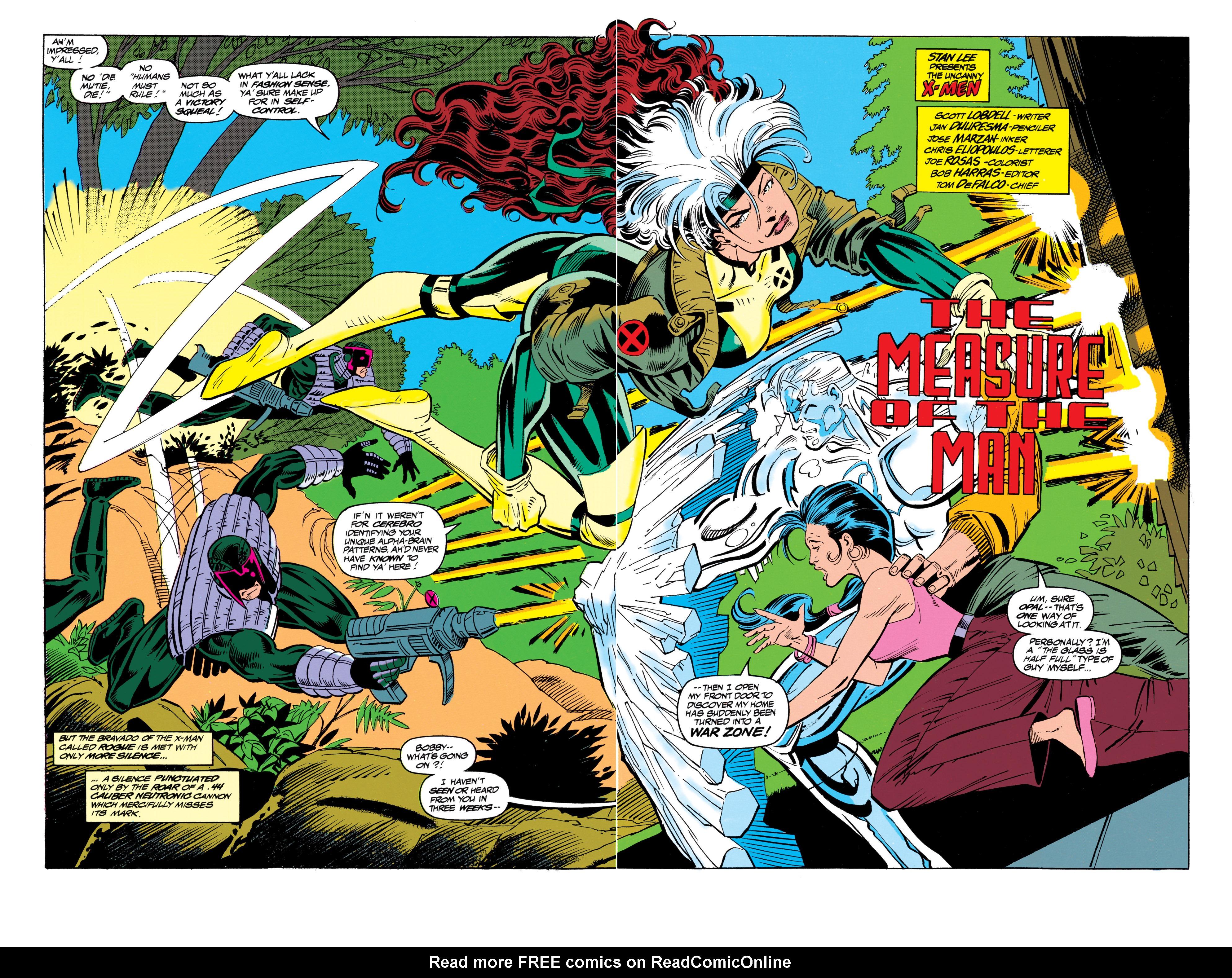 Read online Uncanny X-Men (1963) comic -  Issue #305 - 3