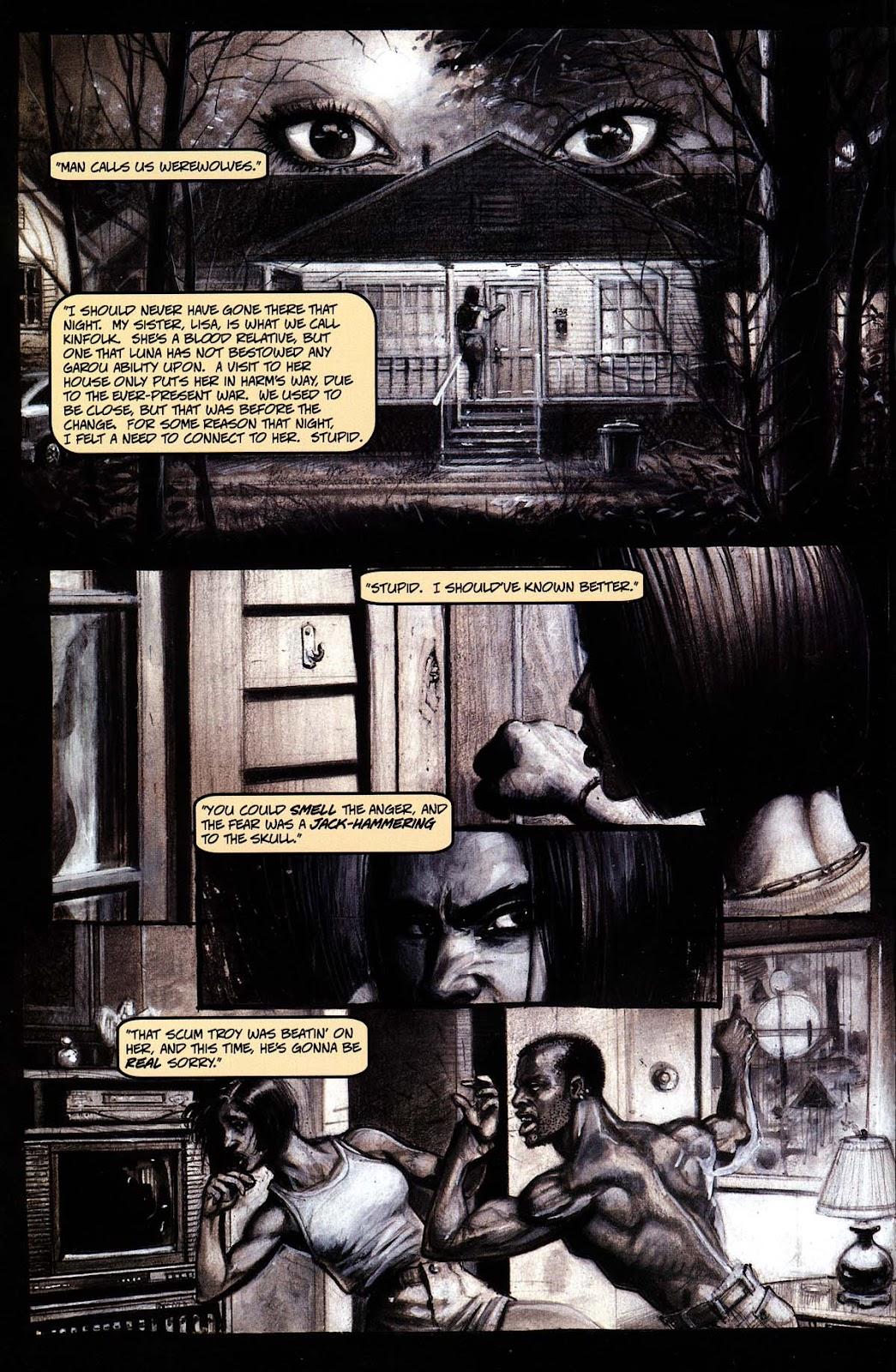 Read online Werewolf the Apocalypse comic -  Issue # Black Furies - 4