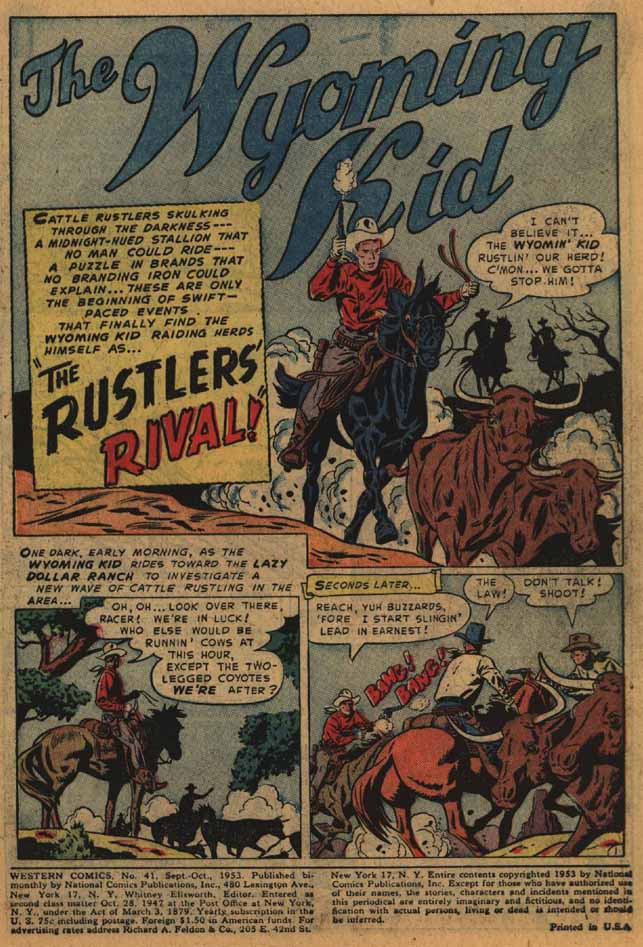 Western Comics issue 41 - Page 3