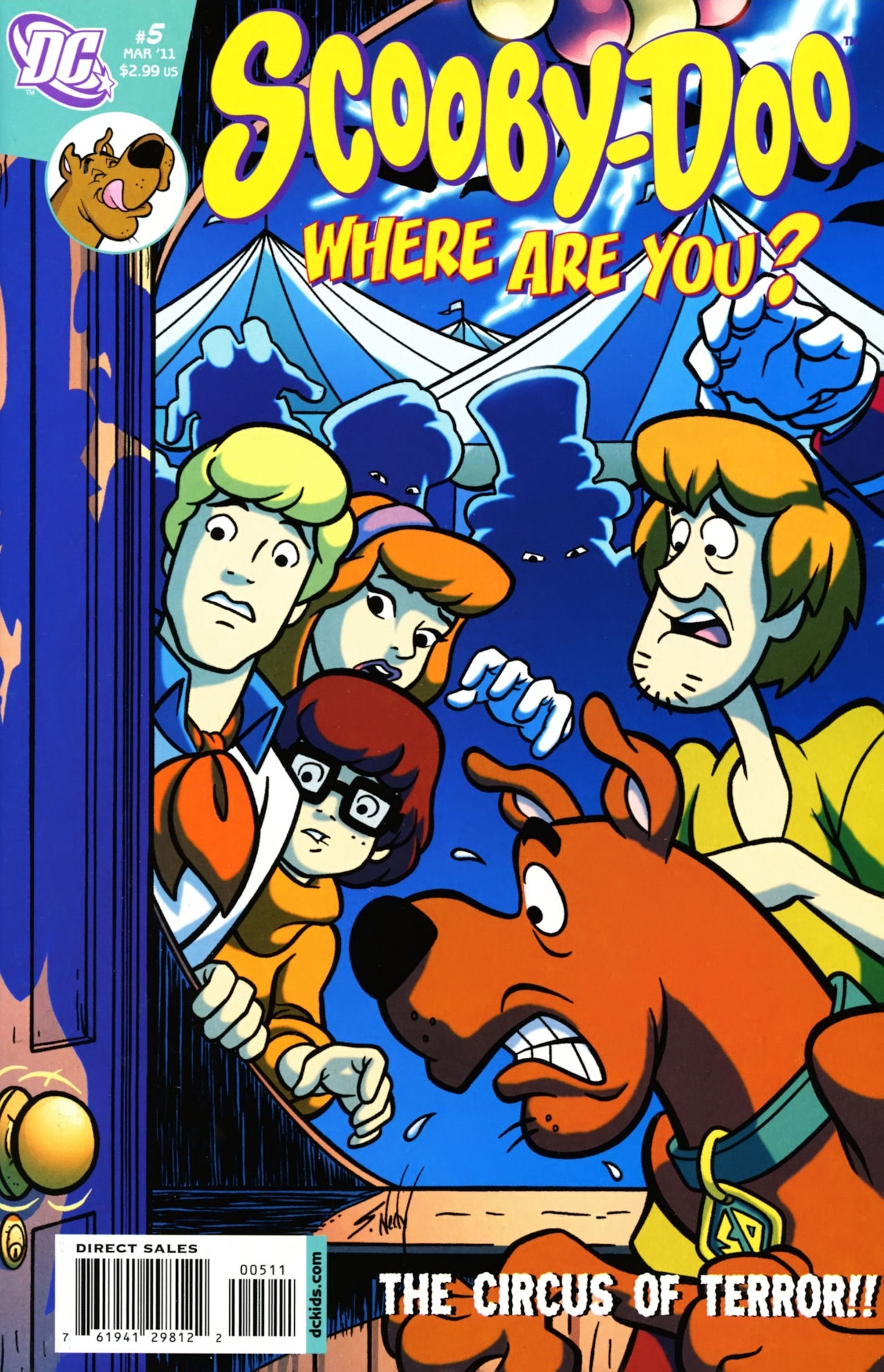 Read online Scooby-Doo: Where Are You? comic -  Issue #5 - 1