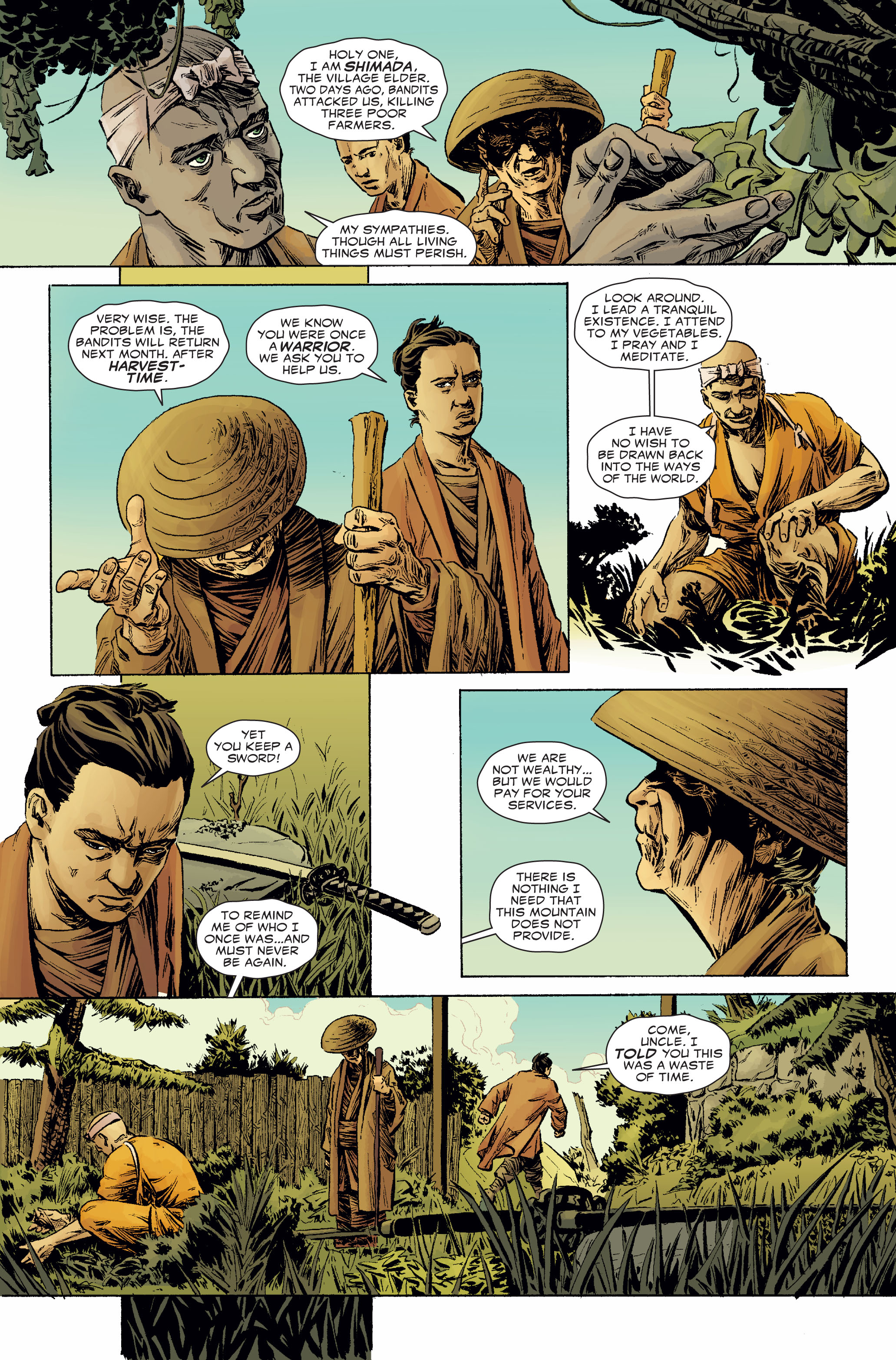 Read online 5 Ronin (2011) comic -  Issue #2 - 4