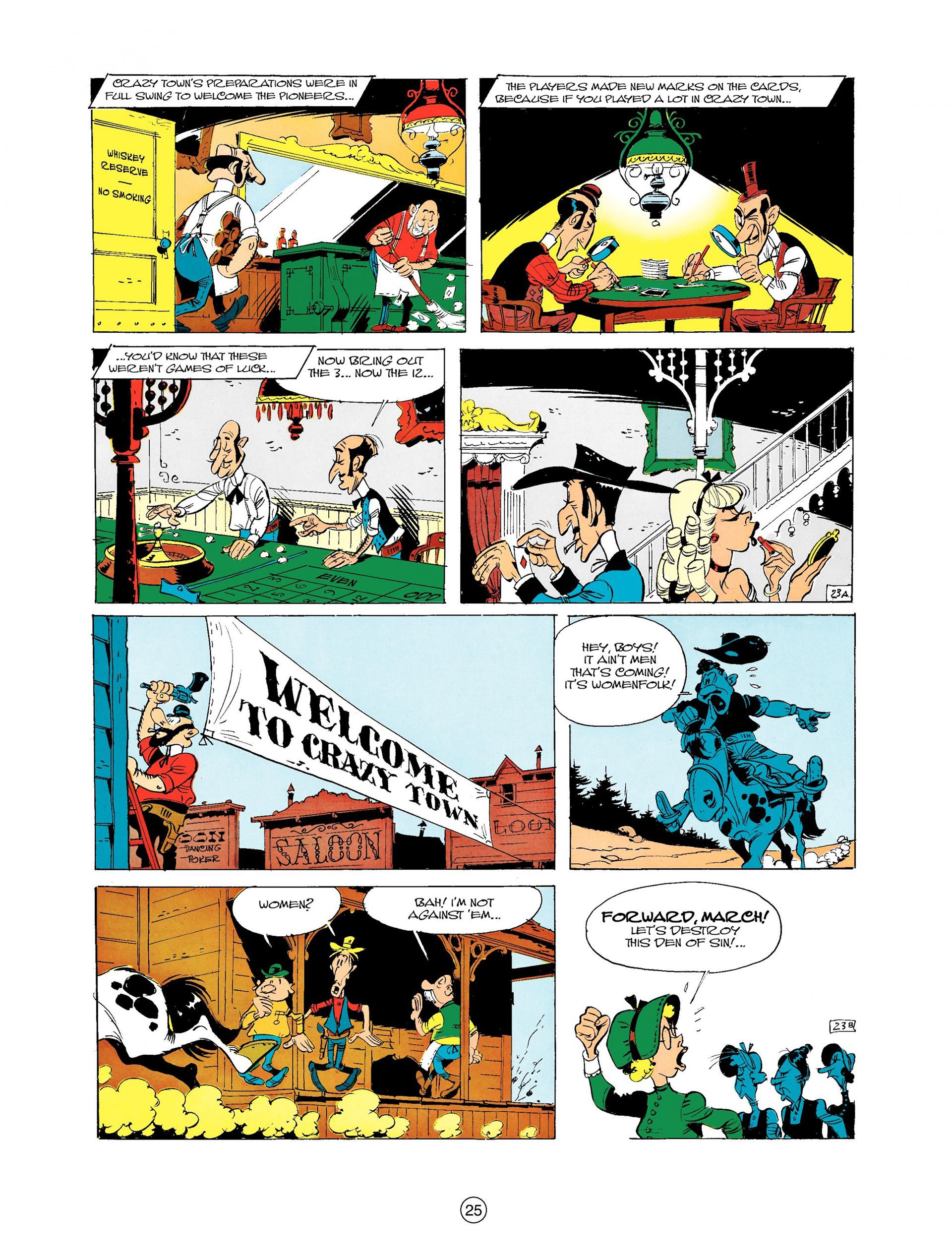 Read online A Lucky Luke Adventure comic -  Issue #9 - 25